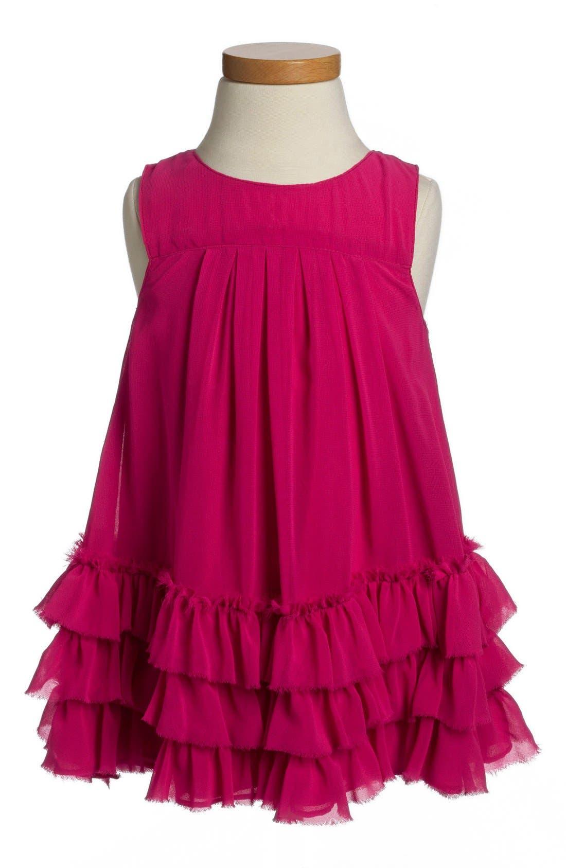 Main Image - Pippa & Julie Chiffon Dress (Toddler Girls)