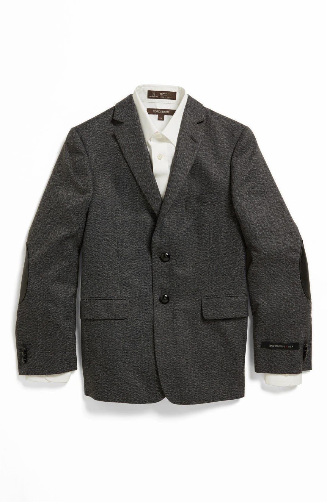 Alternate Image 1 Selected - John Varvatos Star USA Bouclé Sportcoat (Big Boys)