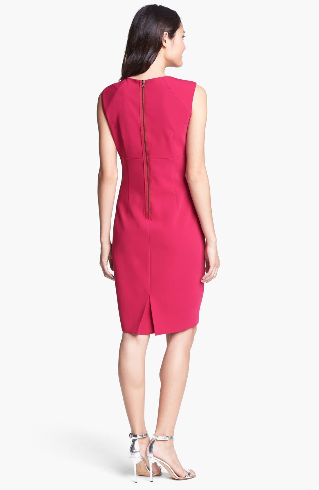 Alternate Image 2  - T Tahari 'Persia' Sheath Dress