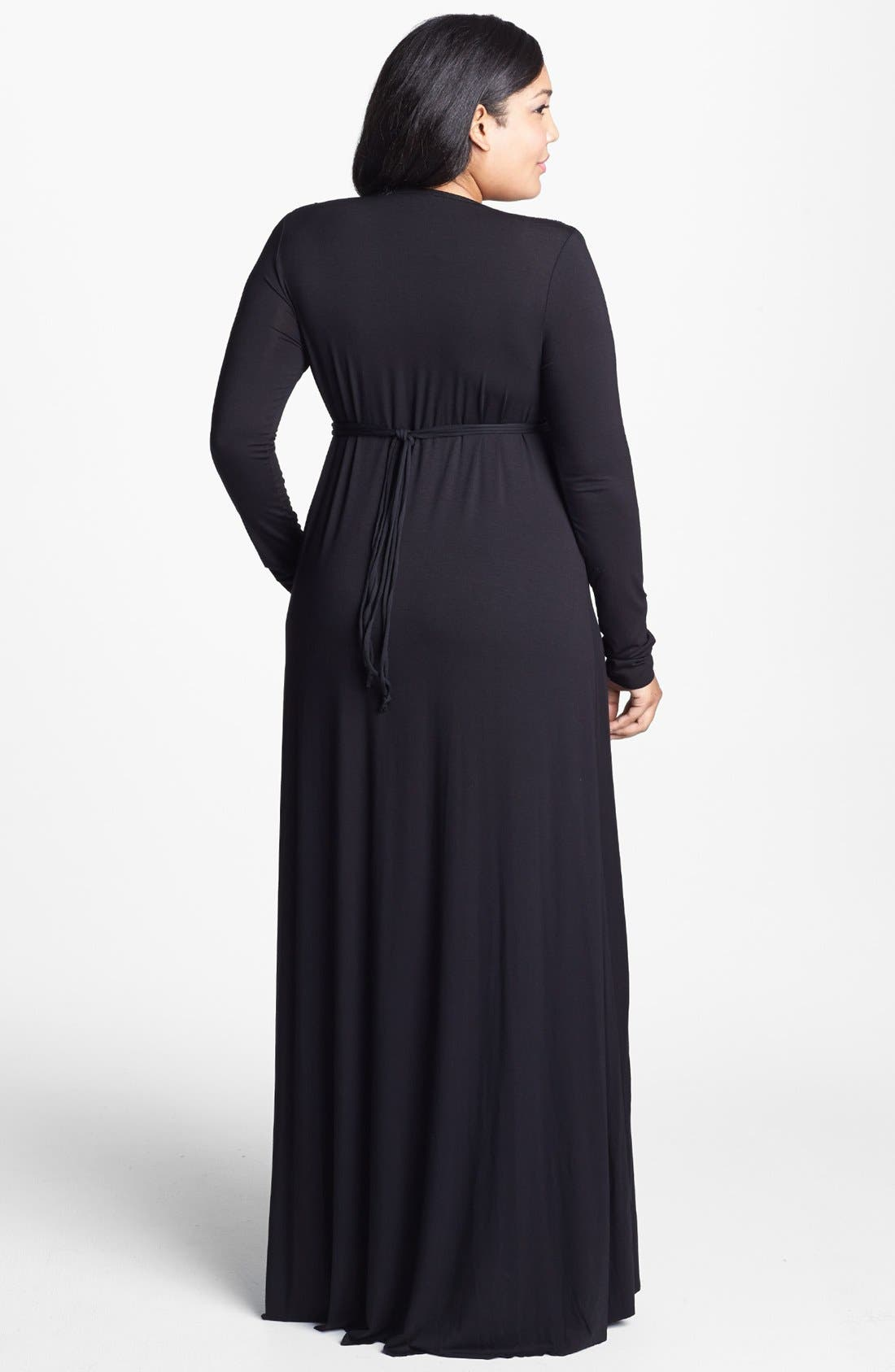 Alternate Image 2  - Rachel Pally Caftan Maxi Dress (Plus Size)
