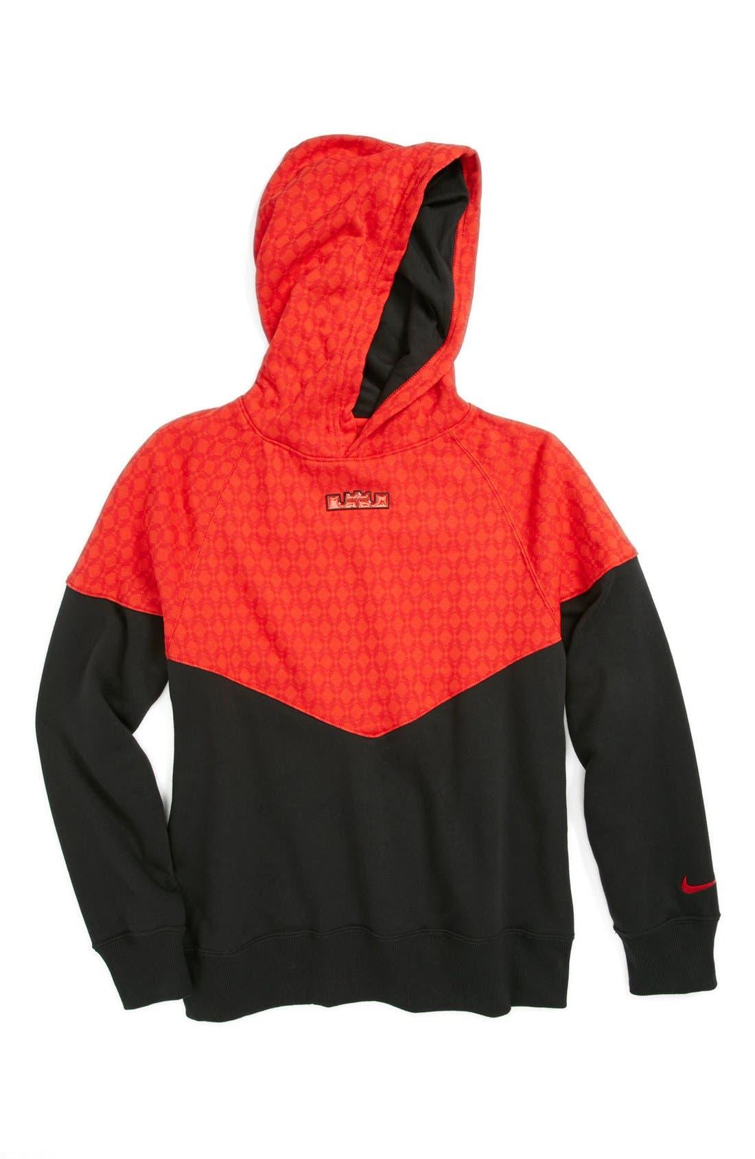 Alternate Image 1 Selected - Nike 'LeBron' Hoodie (Big Boys)
