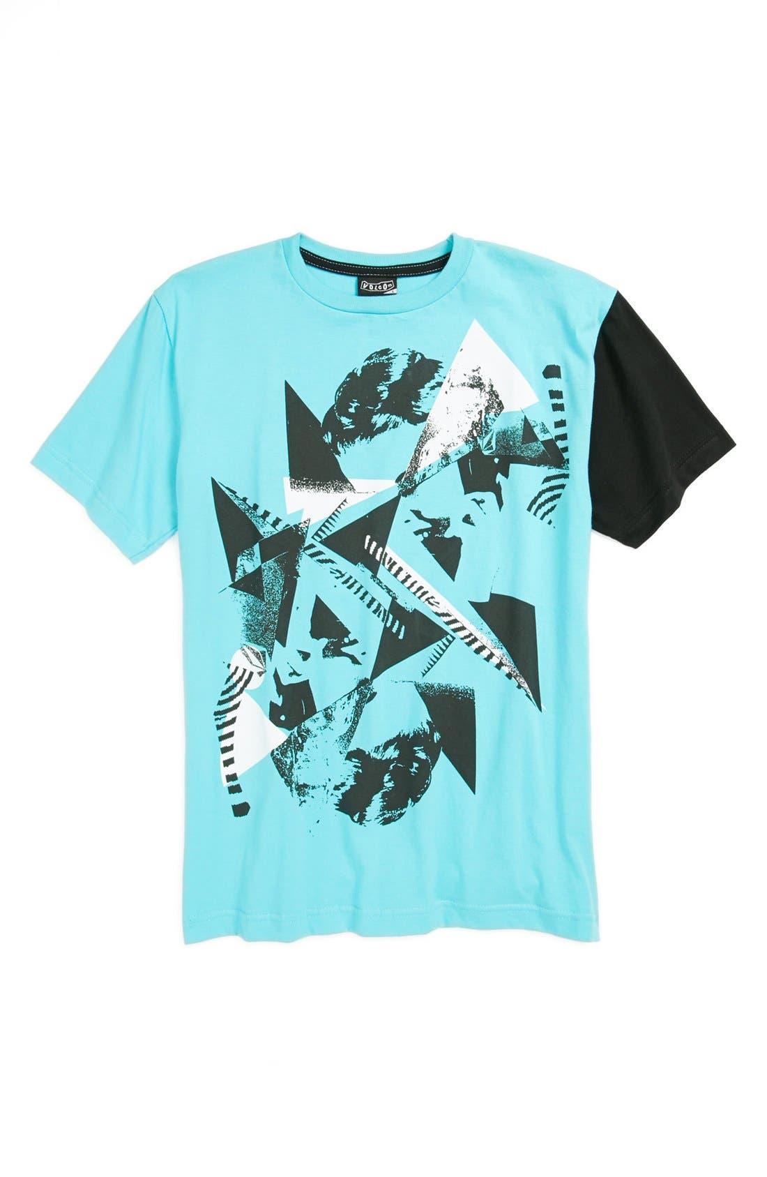 Alternate Image 1 Selected - Volcom 'Trichoto' T-Shirt (Big Boys)