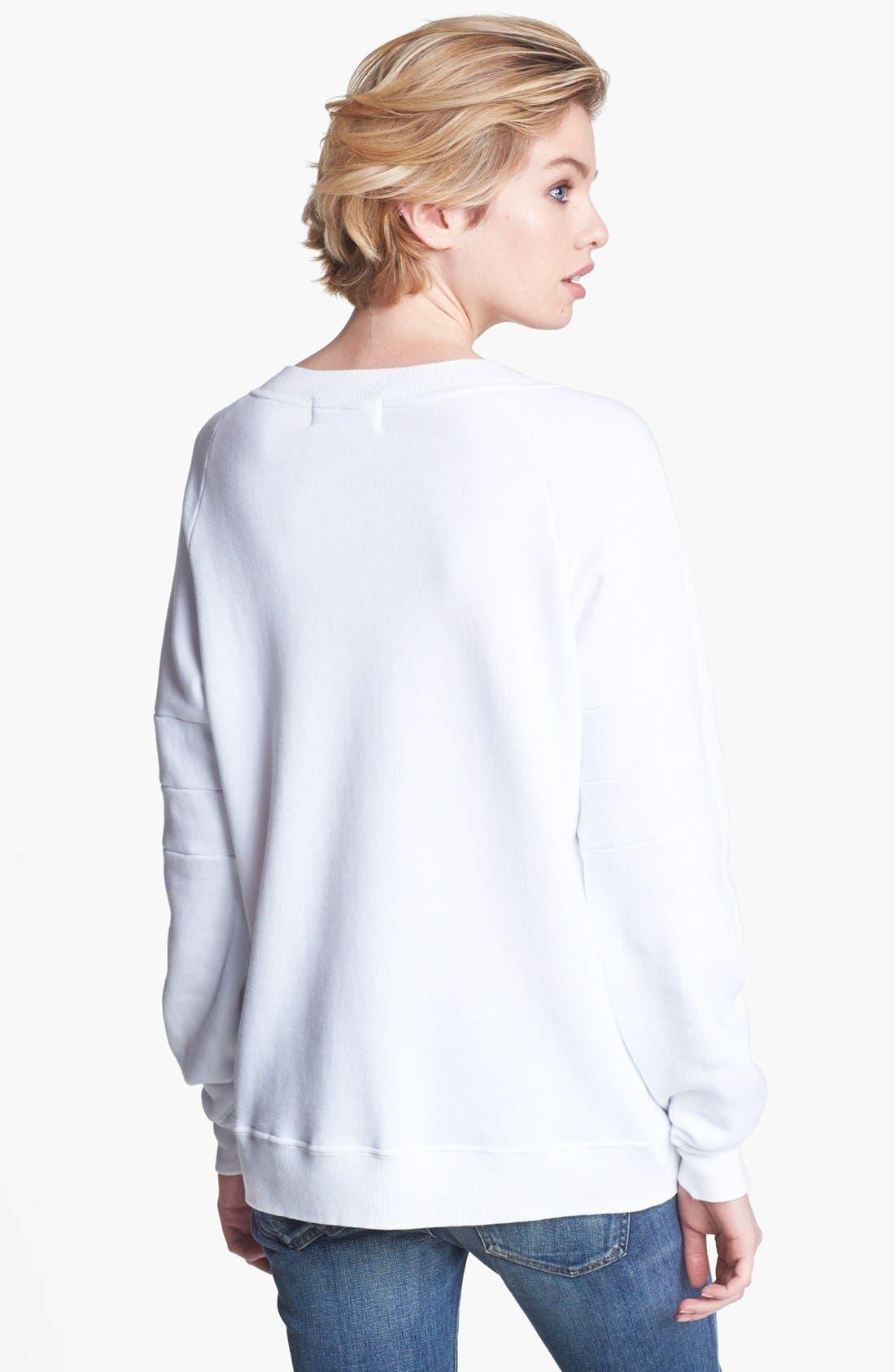 Alternate Image 2  - Wildfox 'Shine Bright Tiger' Sweatshirt