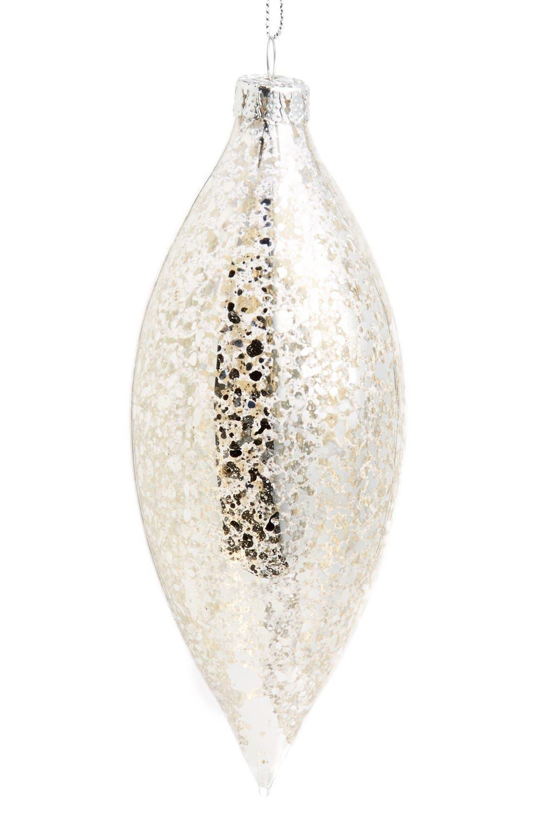 Main Image - Gold Eagle Mercury Glass Finial Ornament