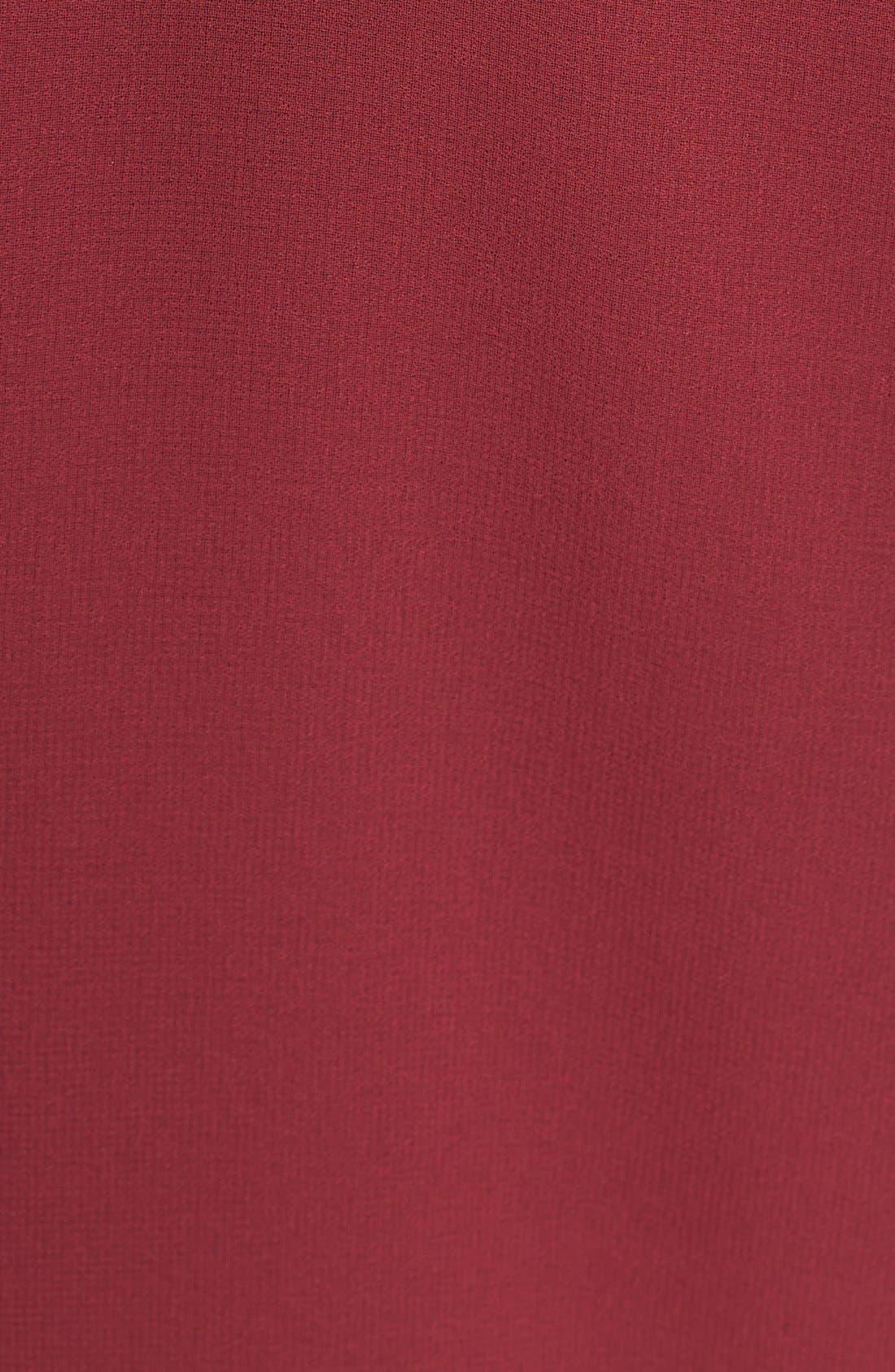 Alternate Image 3  - Hinge® Pleat Front Sheer Peplum Top