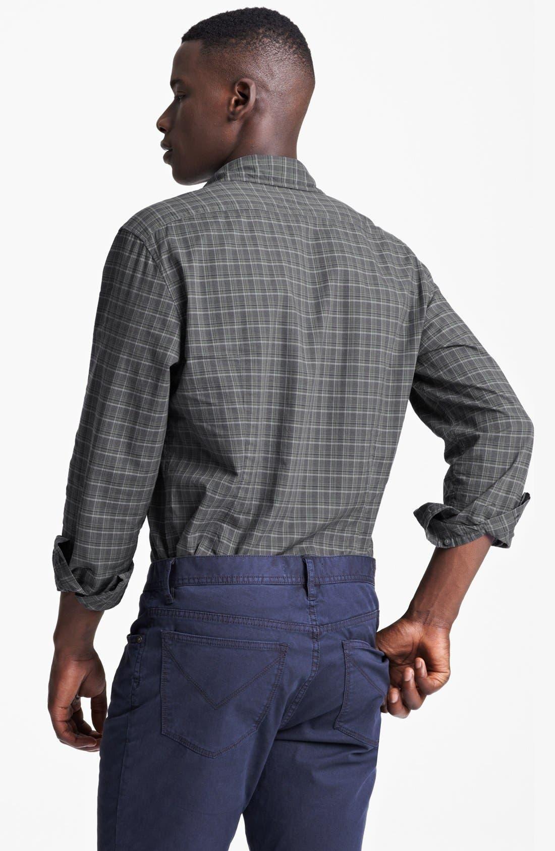 Alternate Image 2  - John Varvatos Star USA Slim Fit Sport Shirt