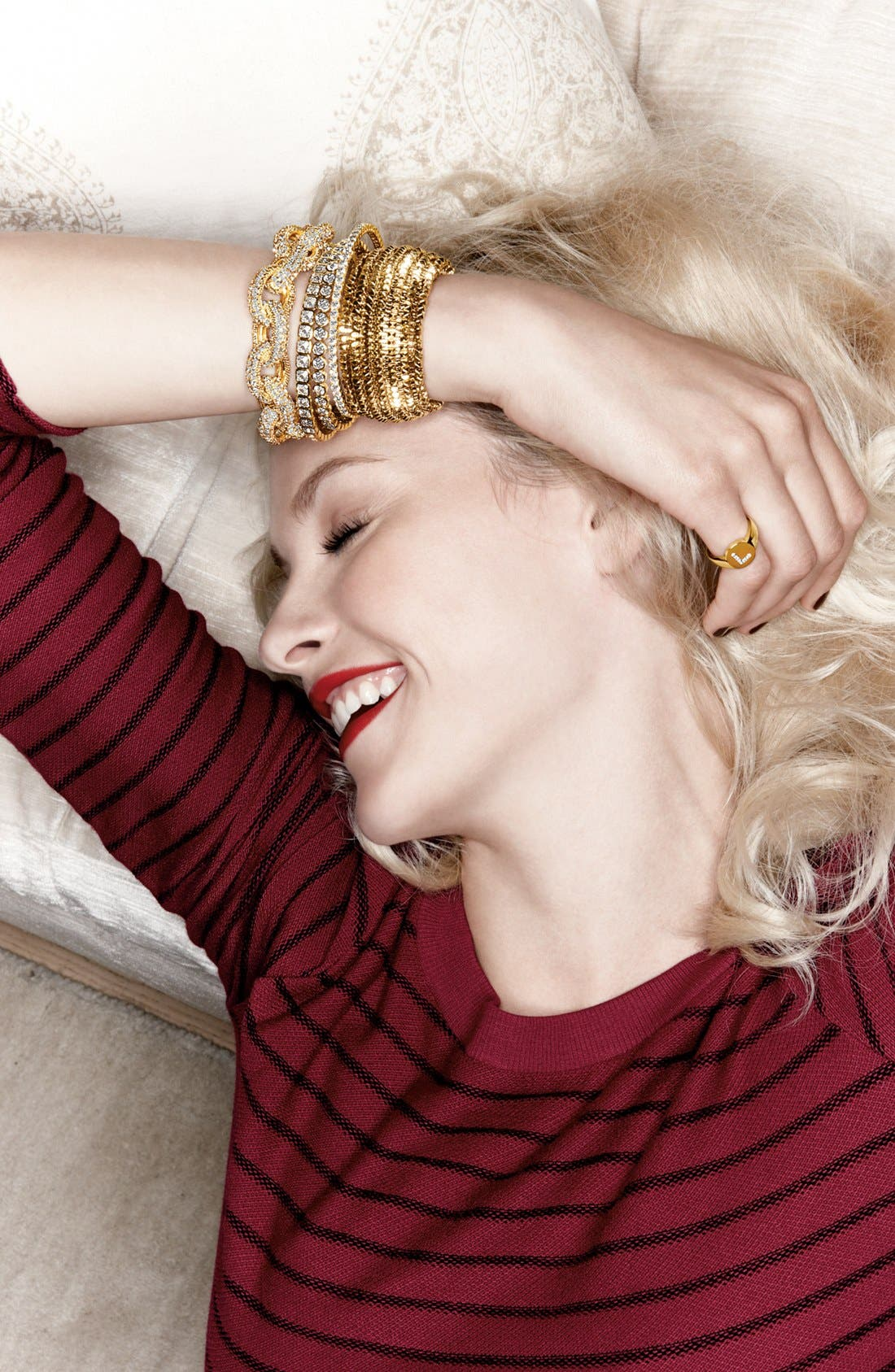 Alternate Image 2  - Tasha Spike Stretch Bracelet