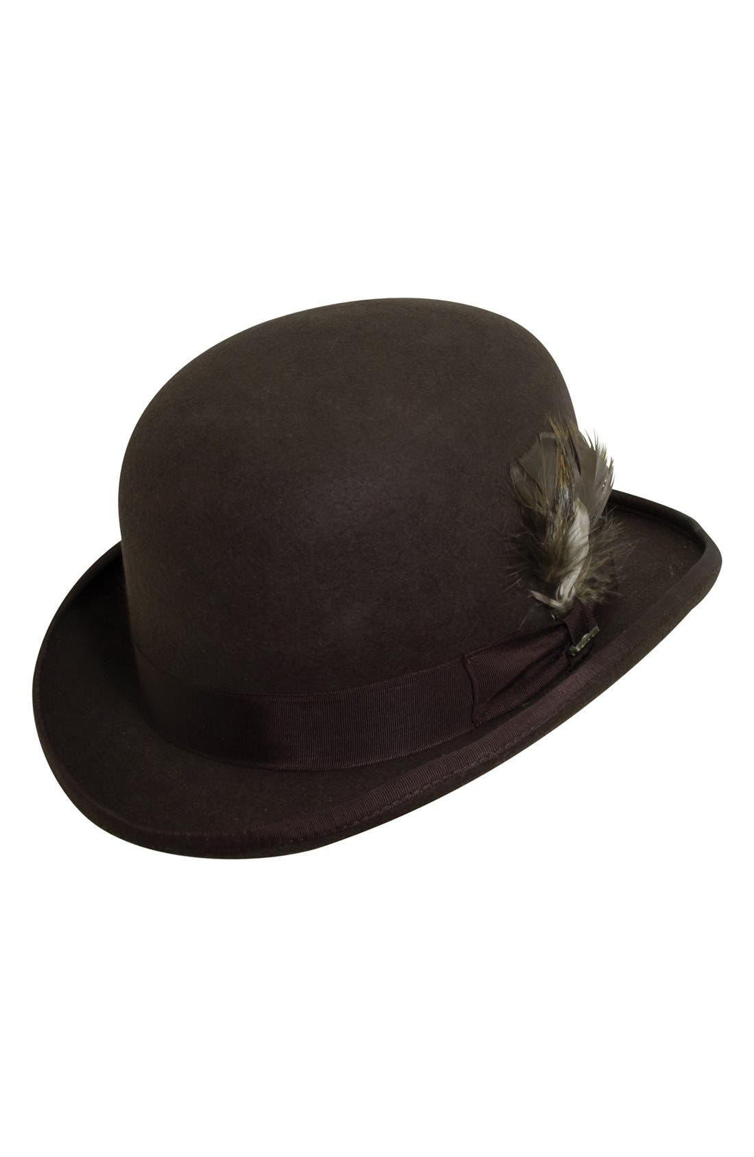 Alternate Image 1 Selected - Scala 'Classico' Wool Felt Derby Hat