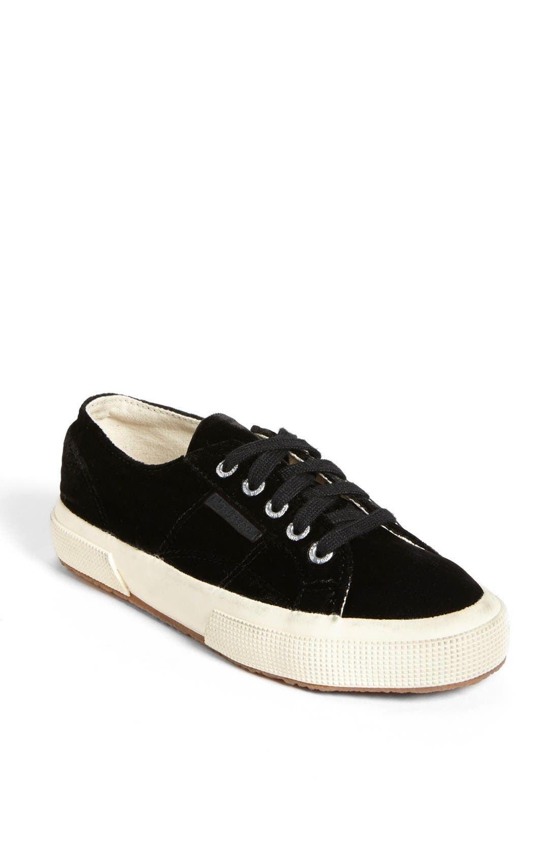 Main Image - Superga Velvet Sneaker (Women) (Limited Edition)