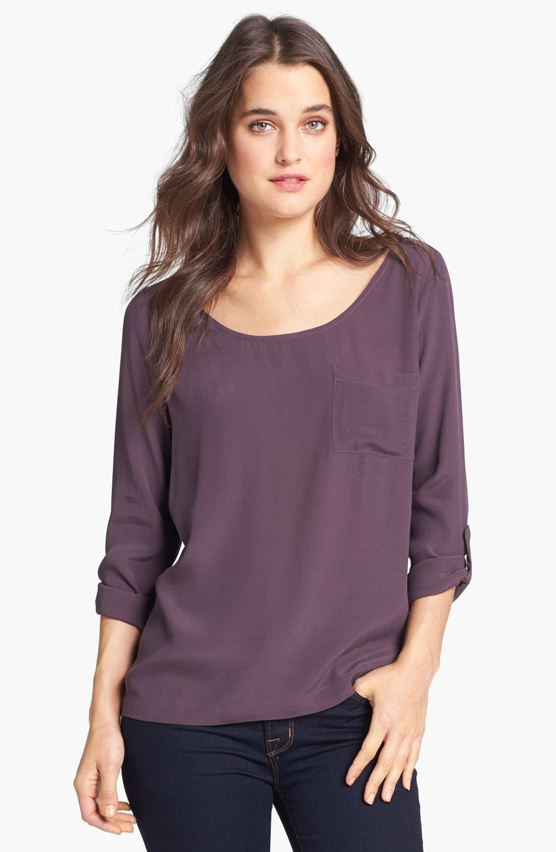 Alternate Image 1 Selected - Soft Joie 'Wyoming' Crepe Blouse