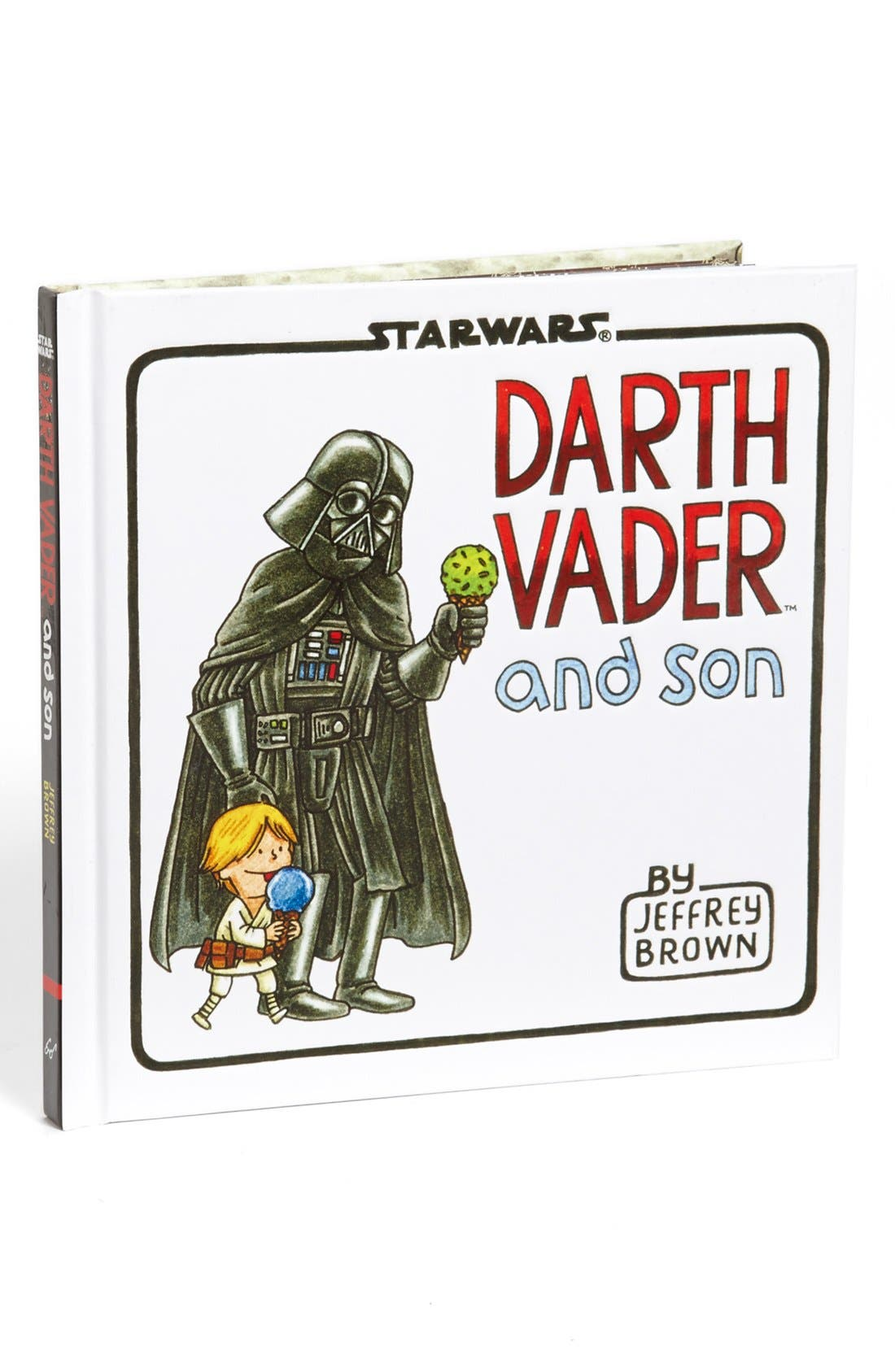 Alternate Image 1 Selected - 'Darth Vader and Son' Book