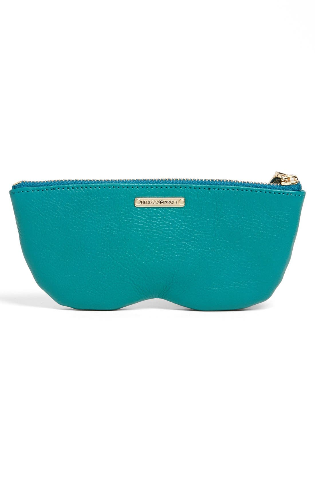 Alternate Image 2  - Rebecca Minkoff Leather Sunglasses Case