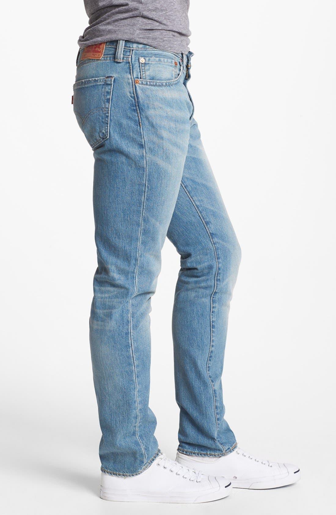 Alternate Image 3  - Levi's® '511' Skinny Jeans (Whiskey)