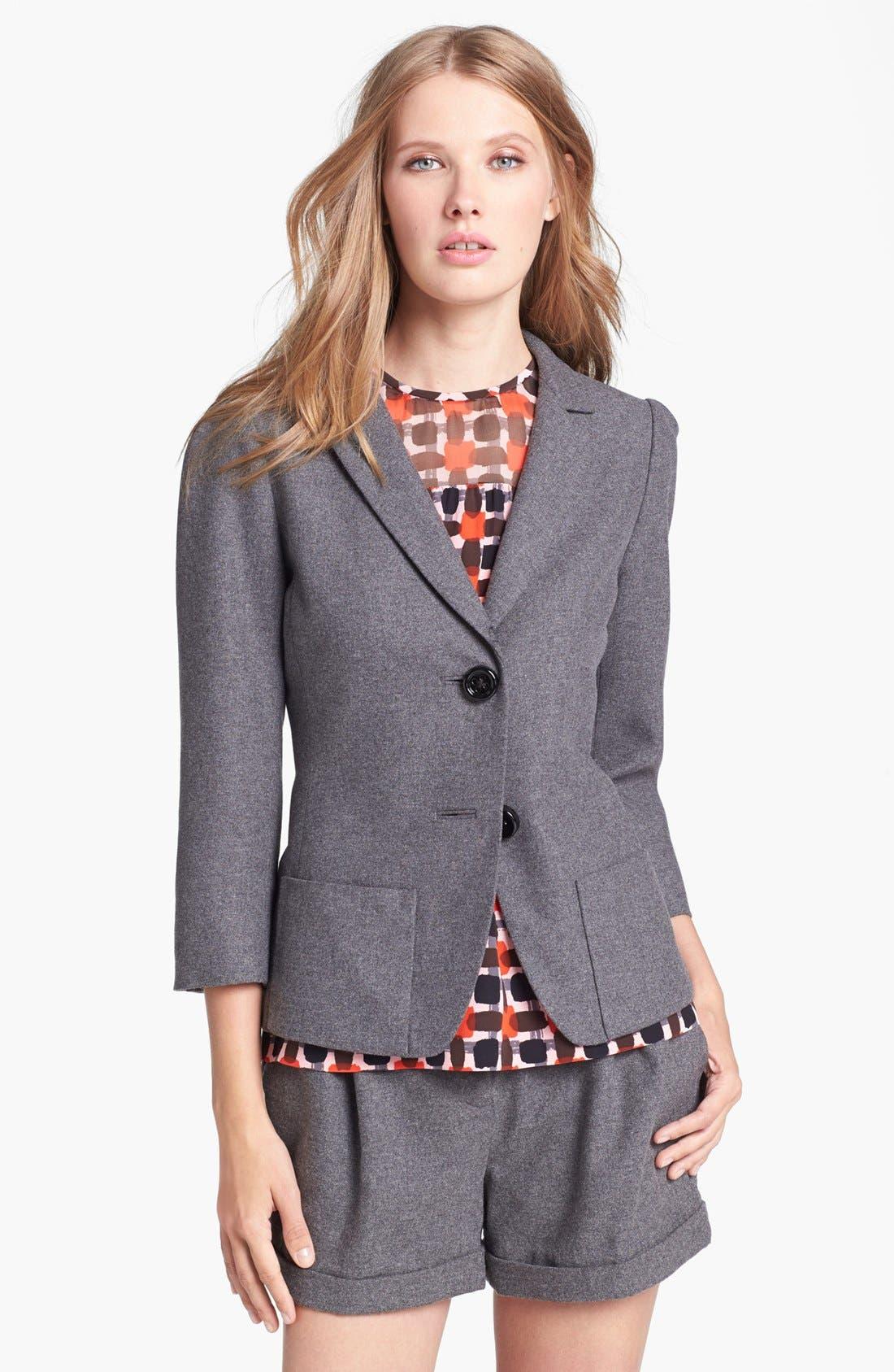 Main Image - kate spade new york 'melita' wool blend jacket