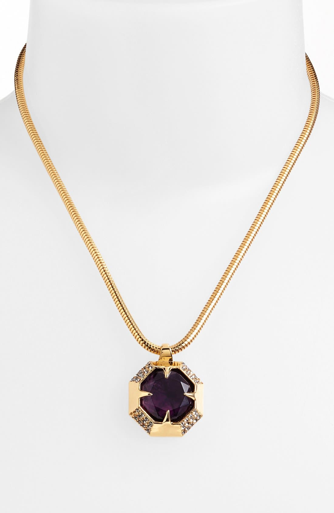 Alternate Image 1 Selected - Vince Camuto 'Jewel Purpose' Stone Pendant Necklace