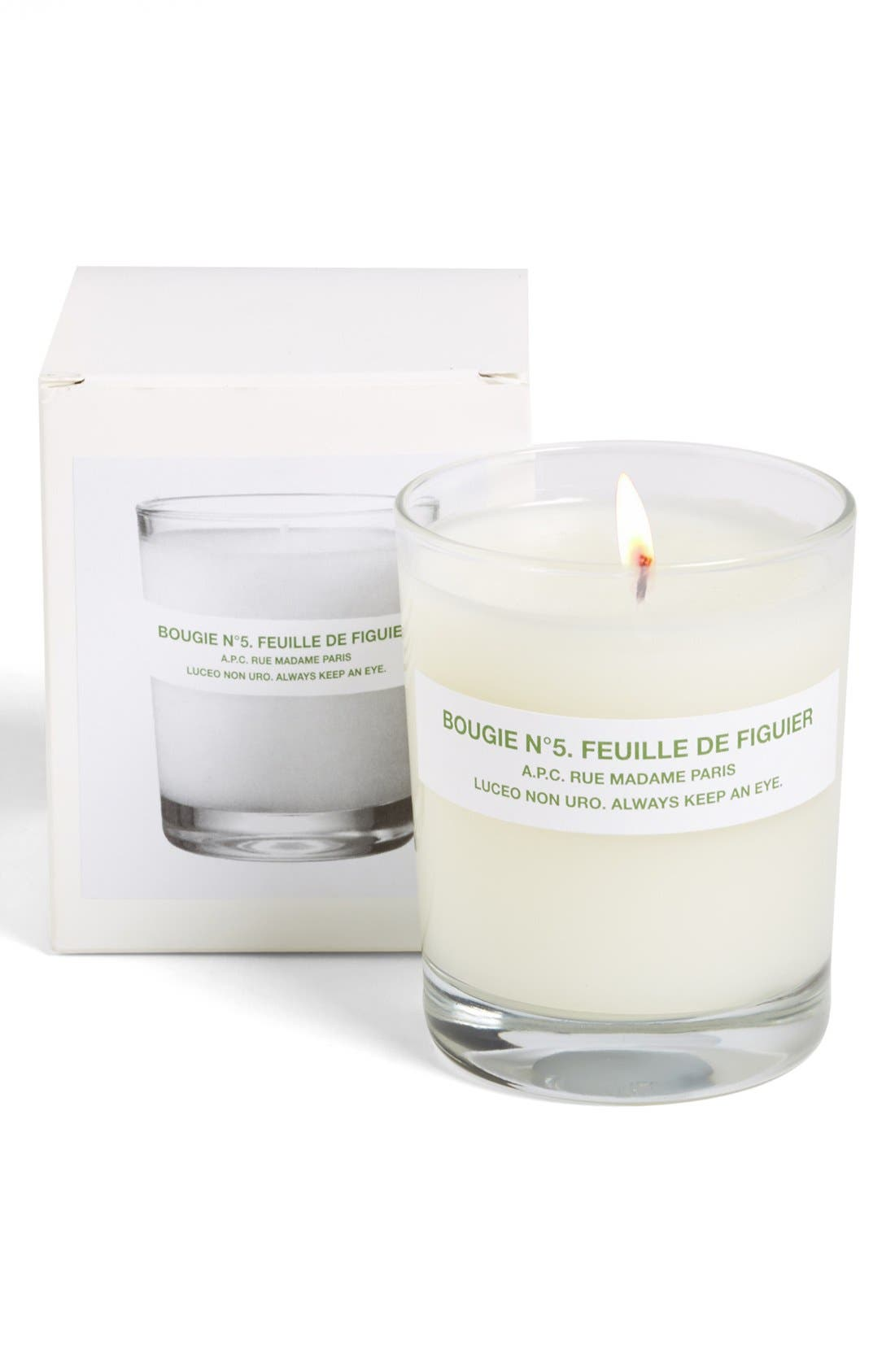 Main Image - A.P.C. 'Bougie Feuille de Figuier' Fig Scented Candle