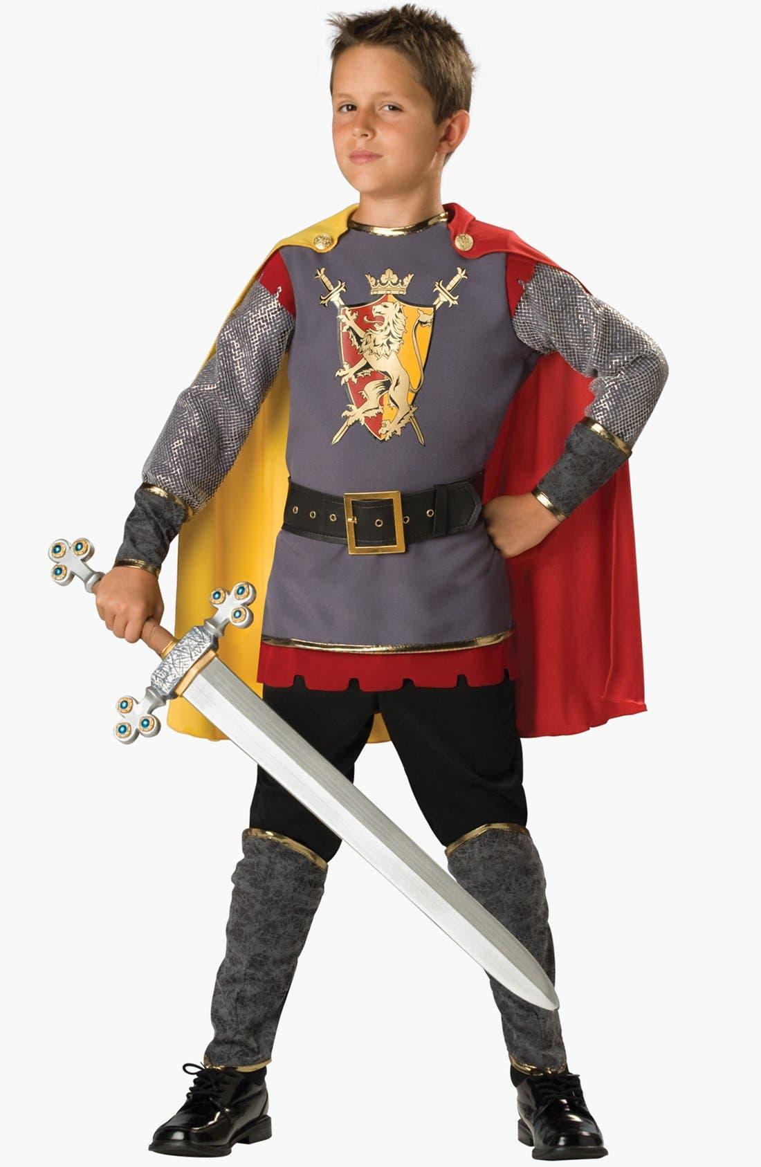 Alternate Image 1 Selected - InCharacter Costumes 'Loyal Knight' Tunic, Cape & Pants (Little Boys & Big Boys)