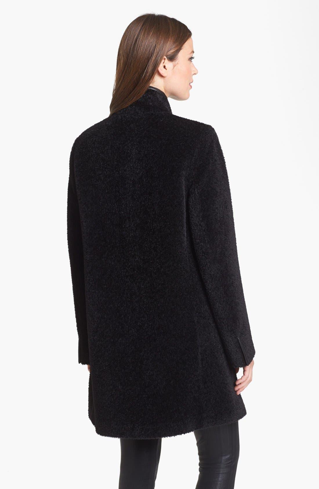 Alternate Image 2  - Eileen Fisher Wool & Alpaca Blend Coat