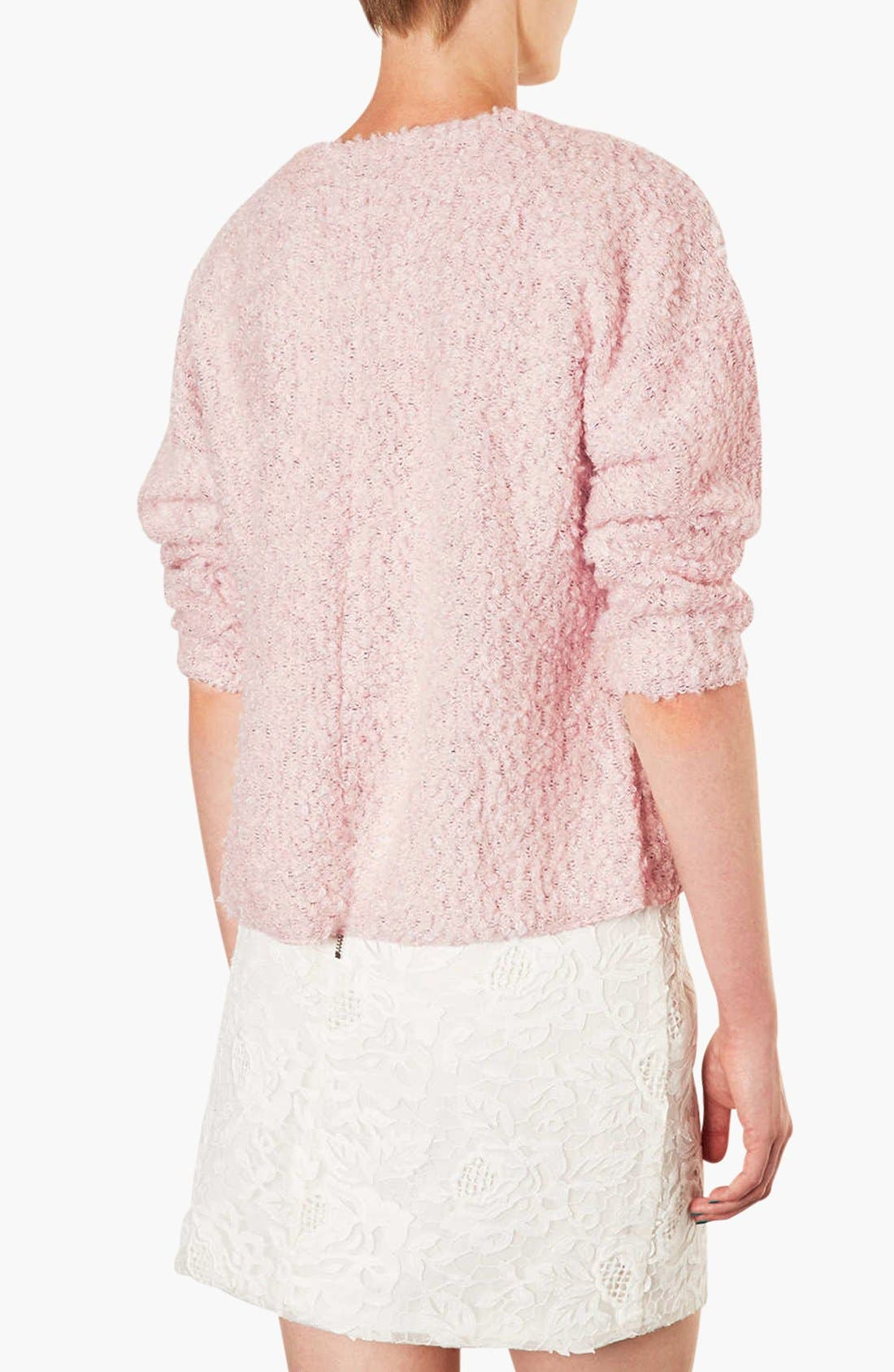 Alternate Image 3  - Topshop Textured Sweater