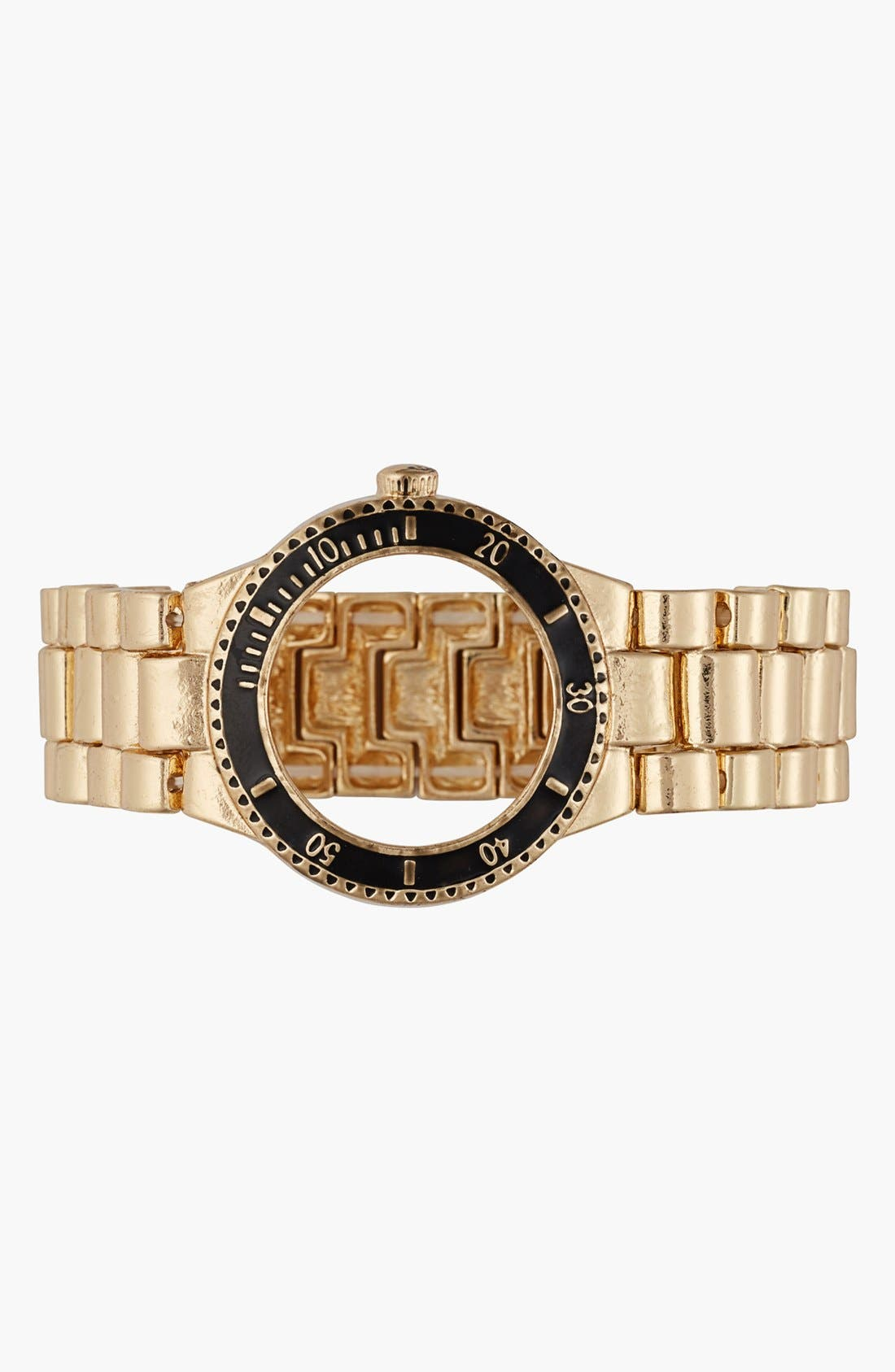 Alternate Image 1 Selected - Cara Couture Wristwatch Stretch Bracelet