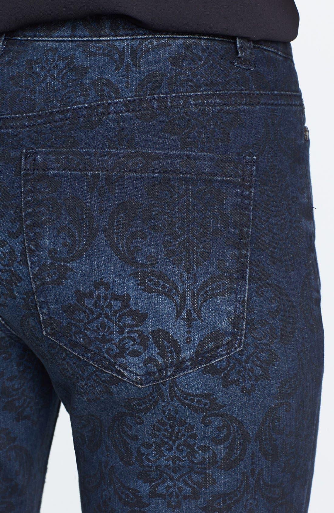 Alternate Image 3  - Liverpool Jeans Company 'Sadie' Print Straight Leg Jeans