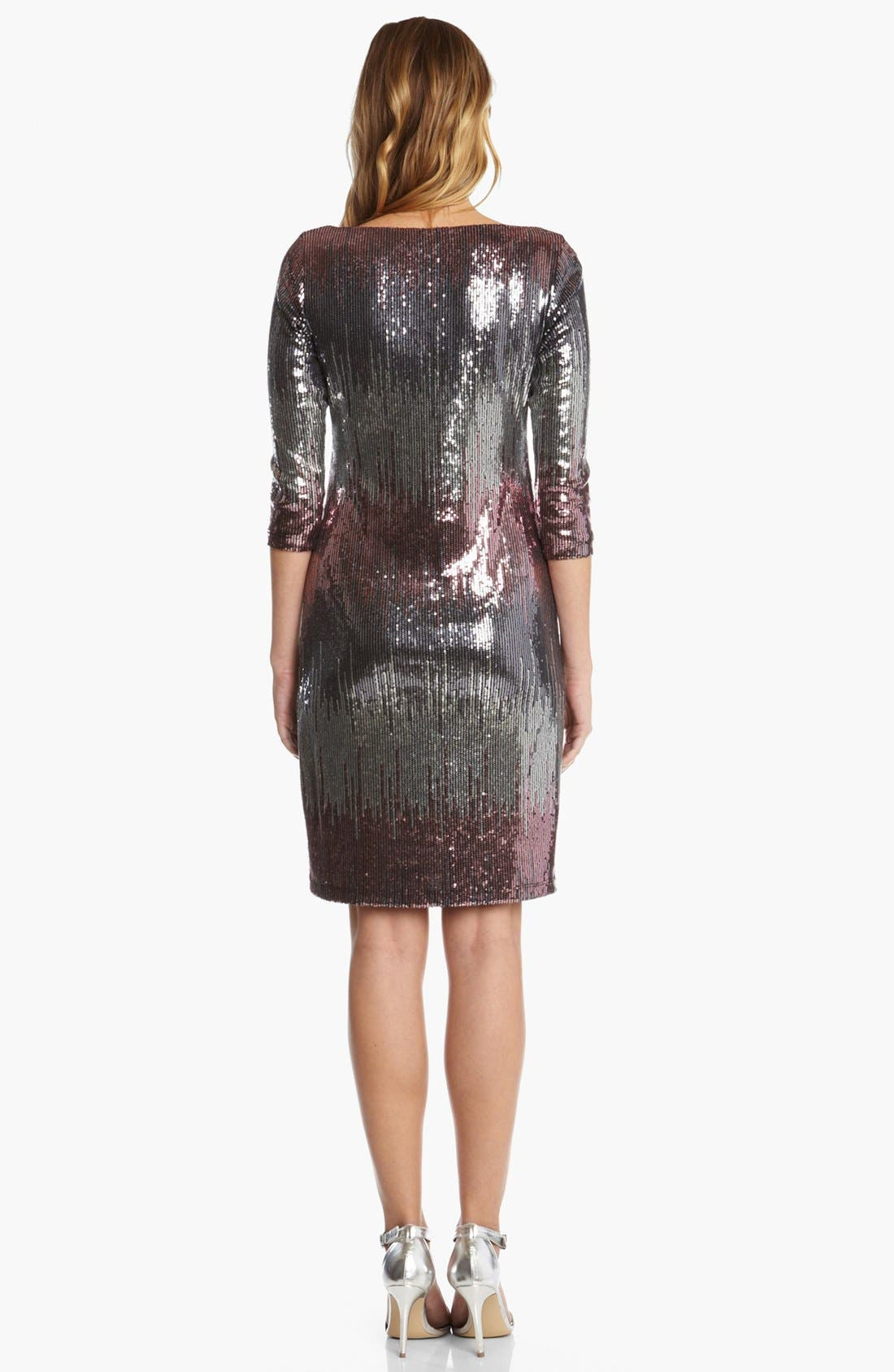 Alternate Image 3  - Karen Kane 'Versailles' Sequin Dress