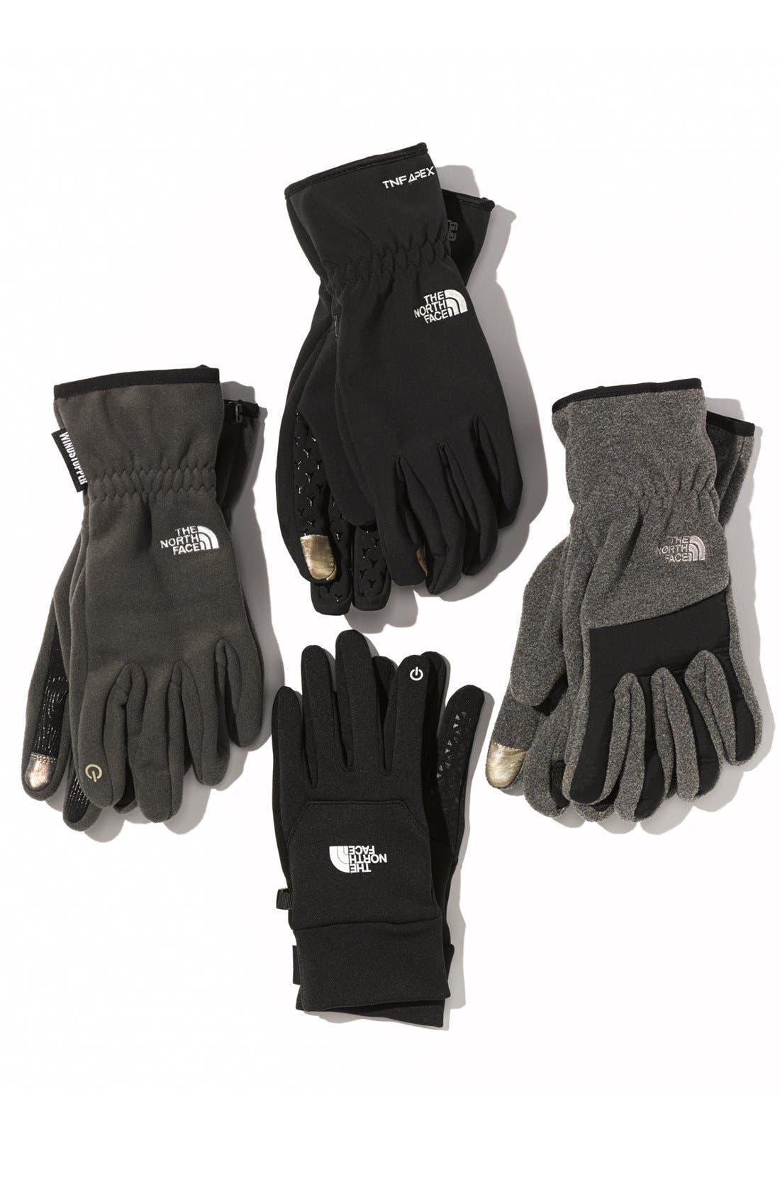 Alternate Image 2  - The North Face 'E-Tip Windstopper™' Gloves (Men)