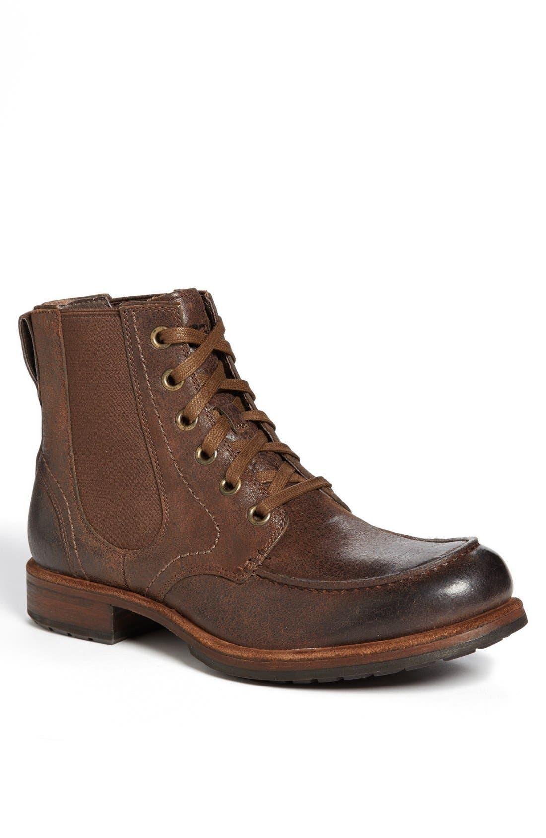 Alternate Image 1 Selected - UGG® Australia 'Jarrett' Moc Toe Boot (Men)