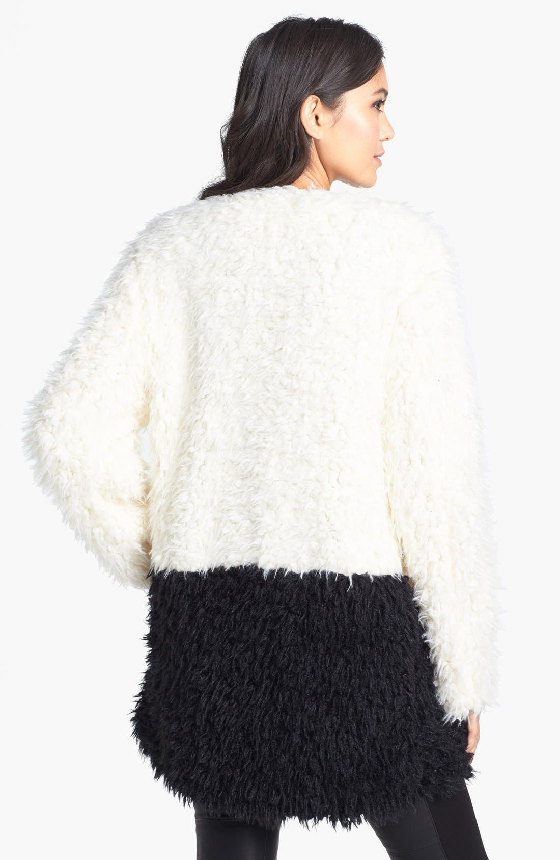 Alternate Image 2  - MINKPINK Faux Fur Coat