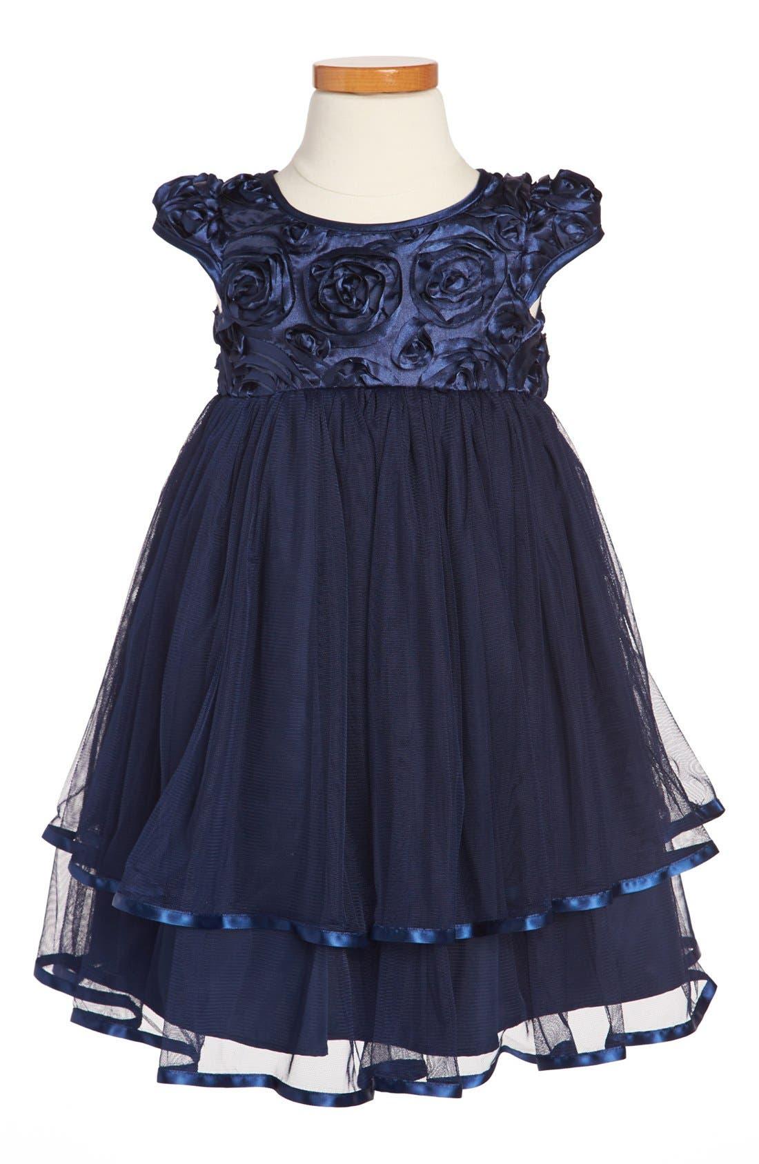 Alternate Image 1 Selected - Pippa & Julie Dress (Toddler Girls)