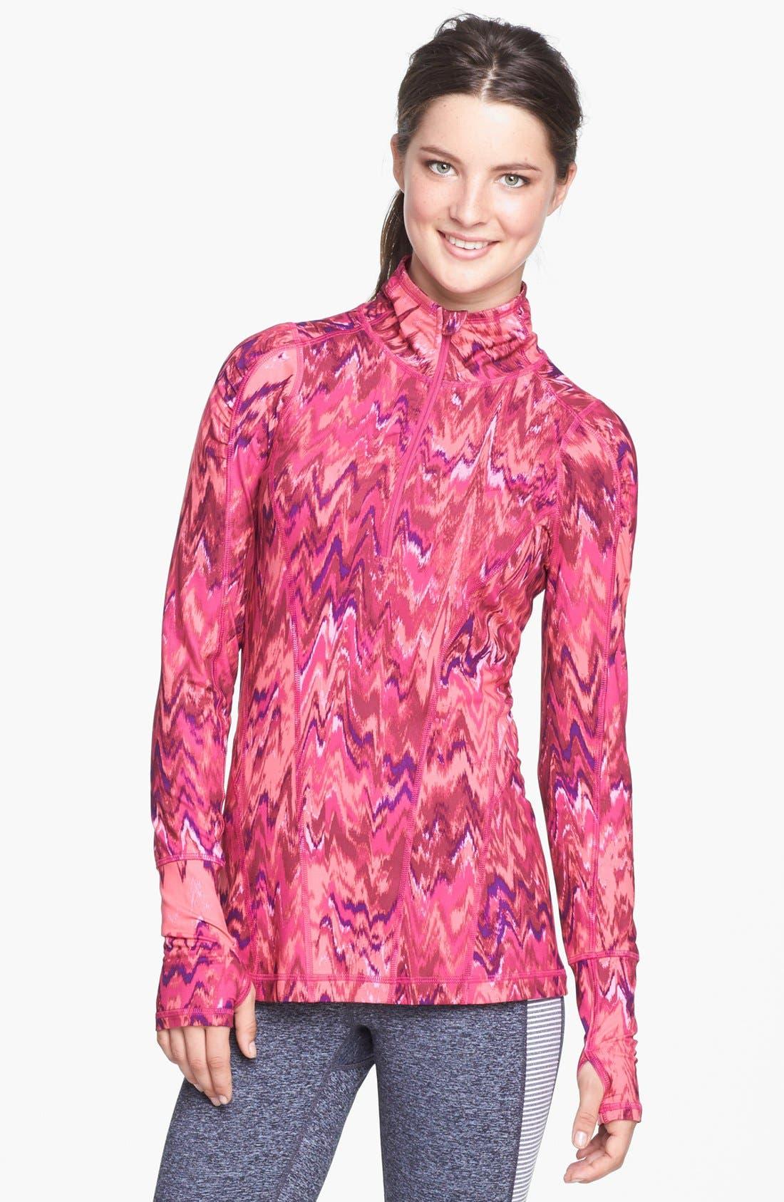 Main Image - Zella 'Good Sport' Half Zip Pullover