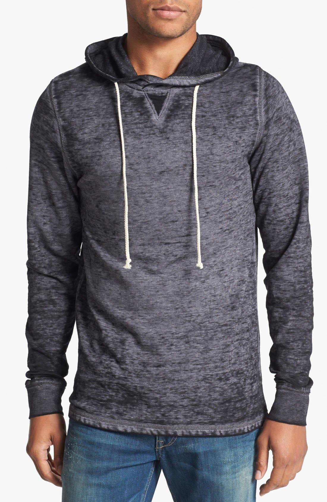 Alternate Image 1 Selected - Threads for Thought Burnout Jersey Hoodie