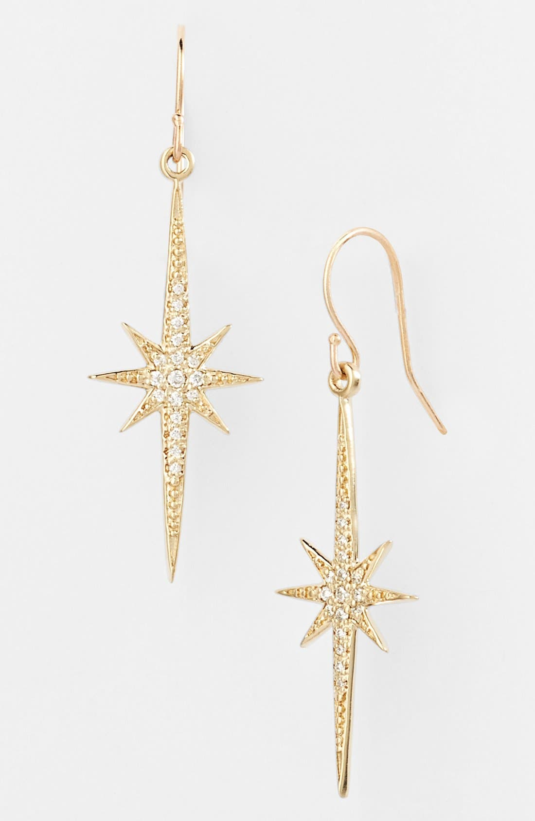 Alternate Image 1 Selected - Mizuki 'Icicles' Starburst Drop Earrings