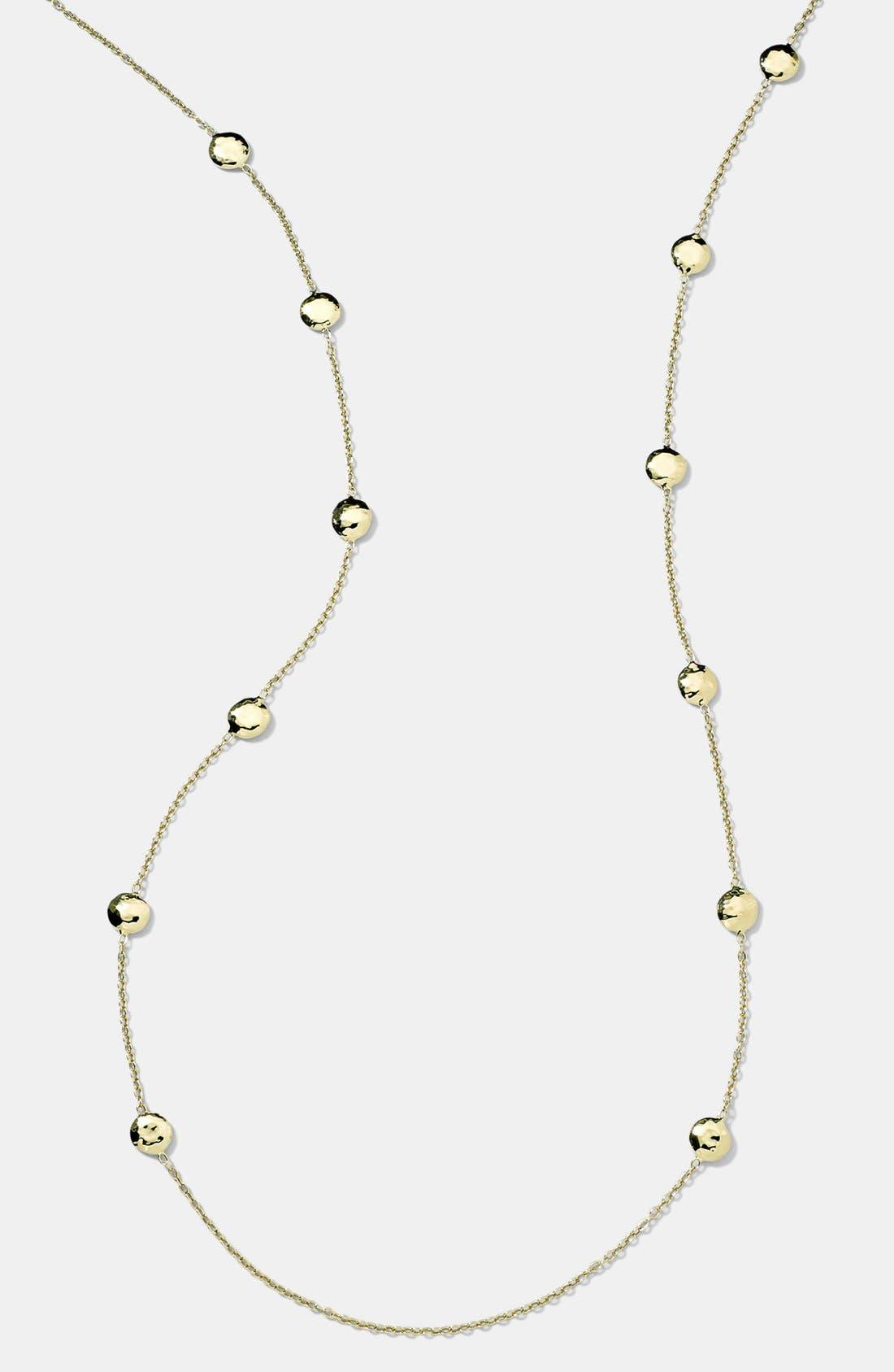 Alternate Image 1 Selected - Ippolita 'Glamazon - Pinball' 18k Gold Long Station Necklace