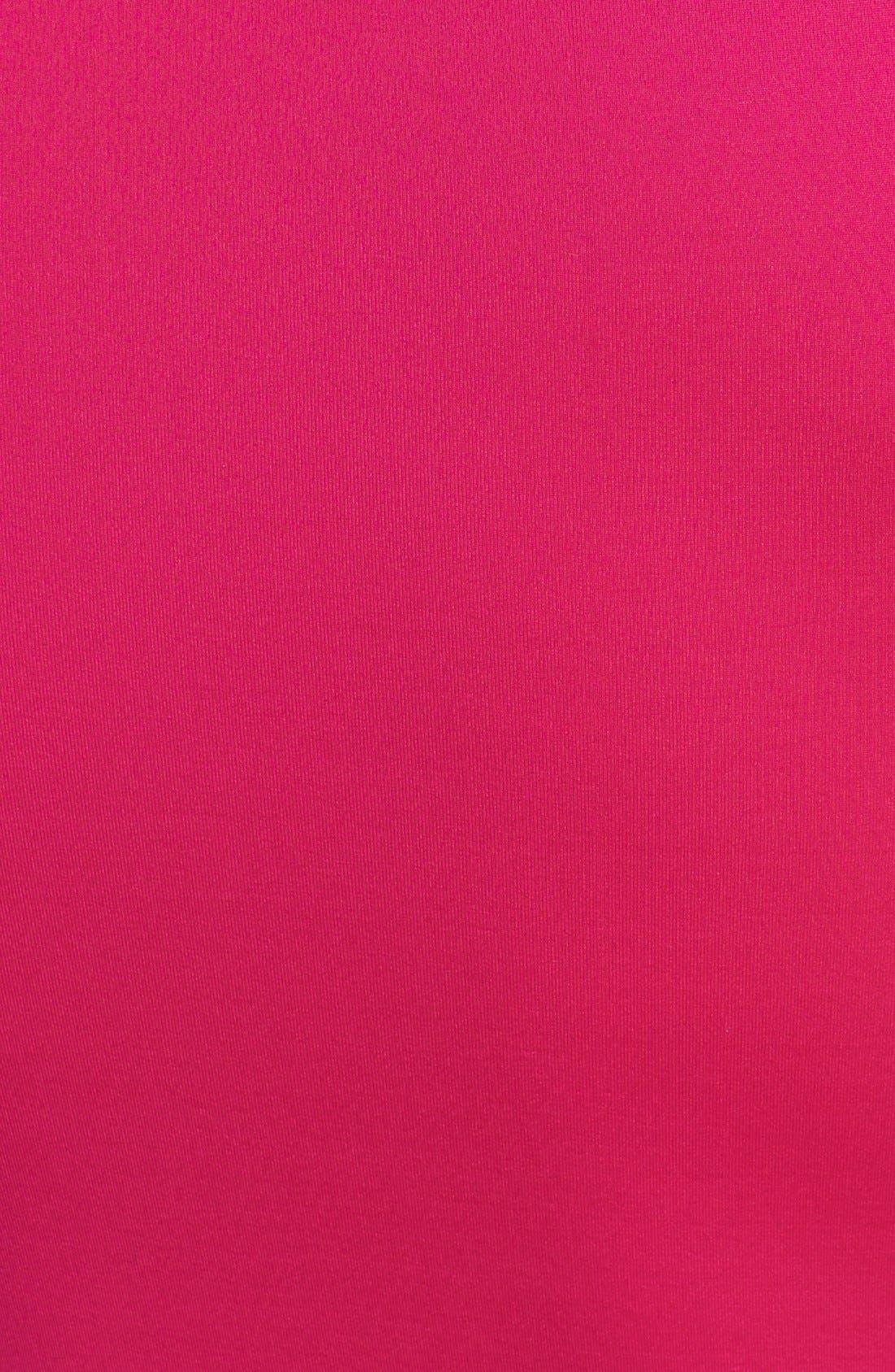 Alternate Image 3  - W Swimwear 'Pink Palms' Rashguard