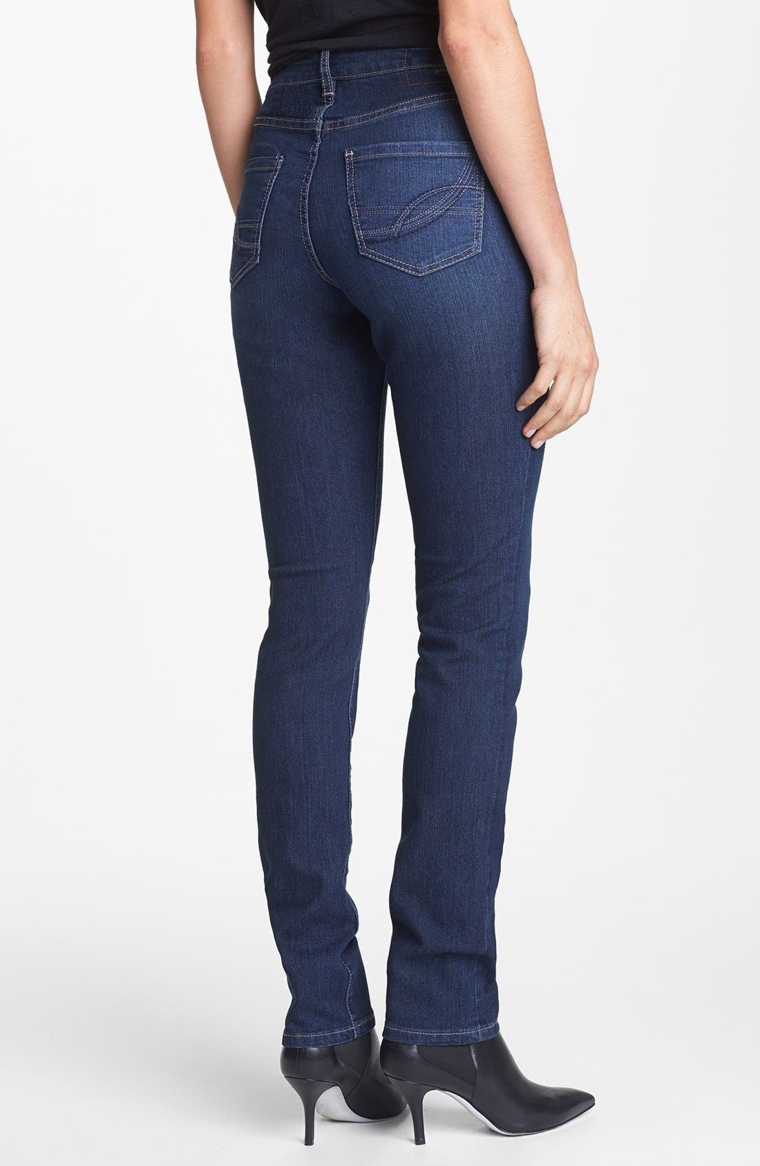 Alternate Image 2  - Jag Jeans 'Holly' Slim Fit Jeans (Blue Shadow)