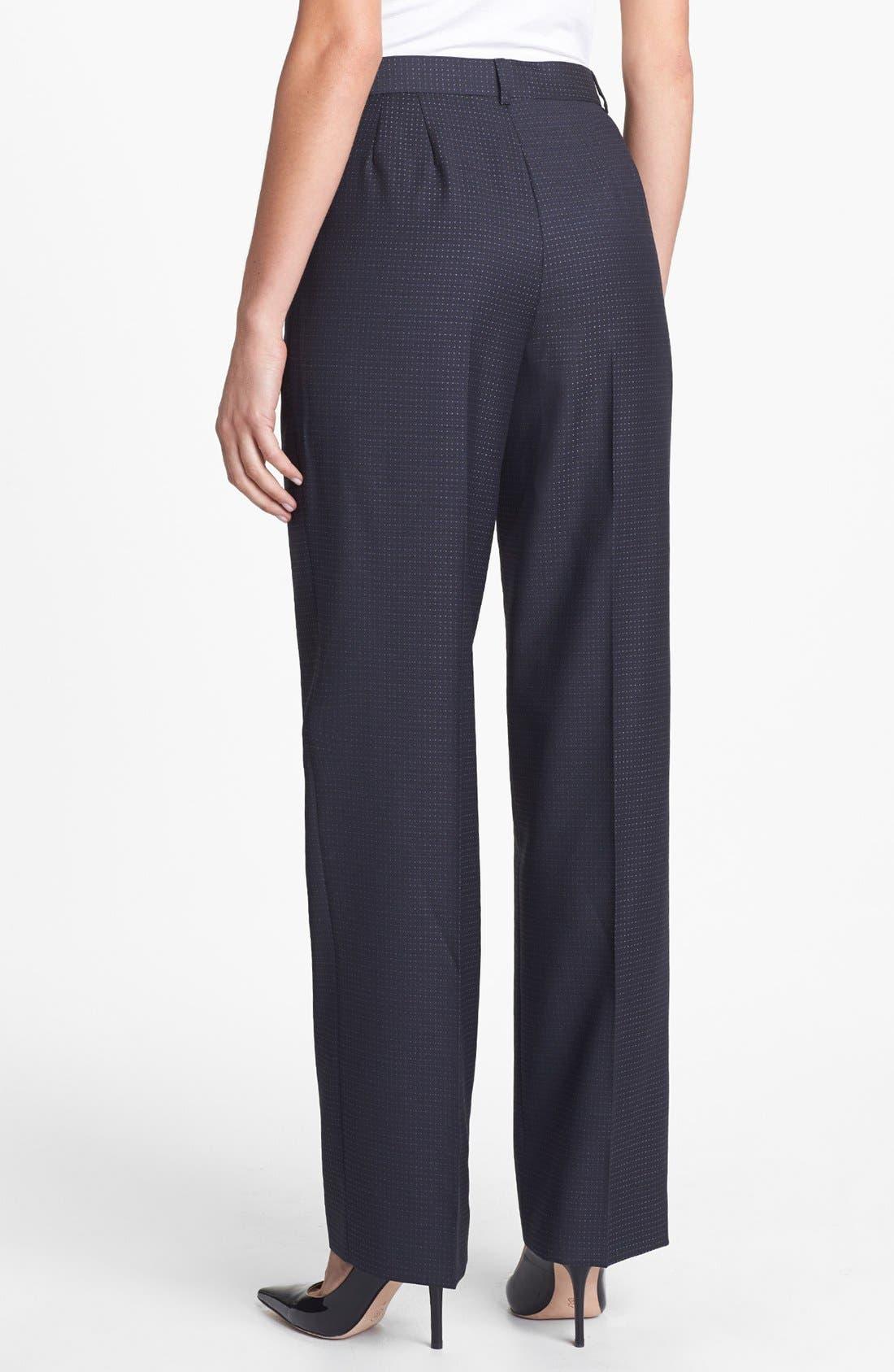 Alternate Image 2  - Zanella 'Goldie' Wool Pants