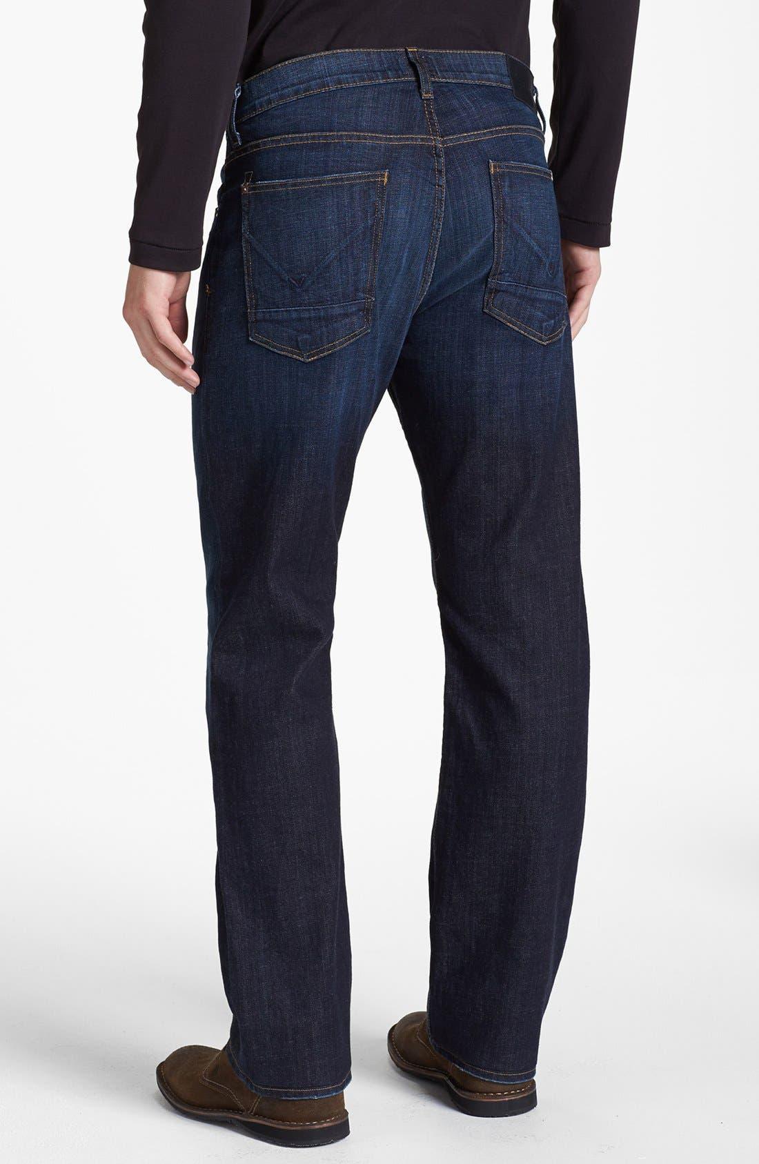 Alternate Image 2  - Hudson Jeans Straight Leg Jeans (Latour) (Tall)