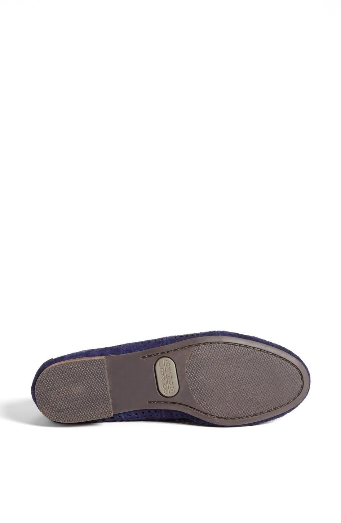 Alternate Image 4  - Adam Tucker Me Too 'Harvard' Leather Flat