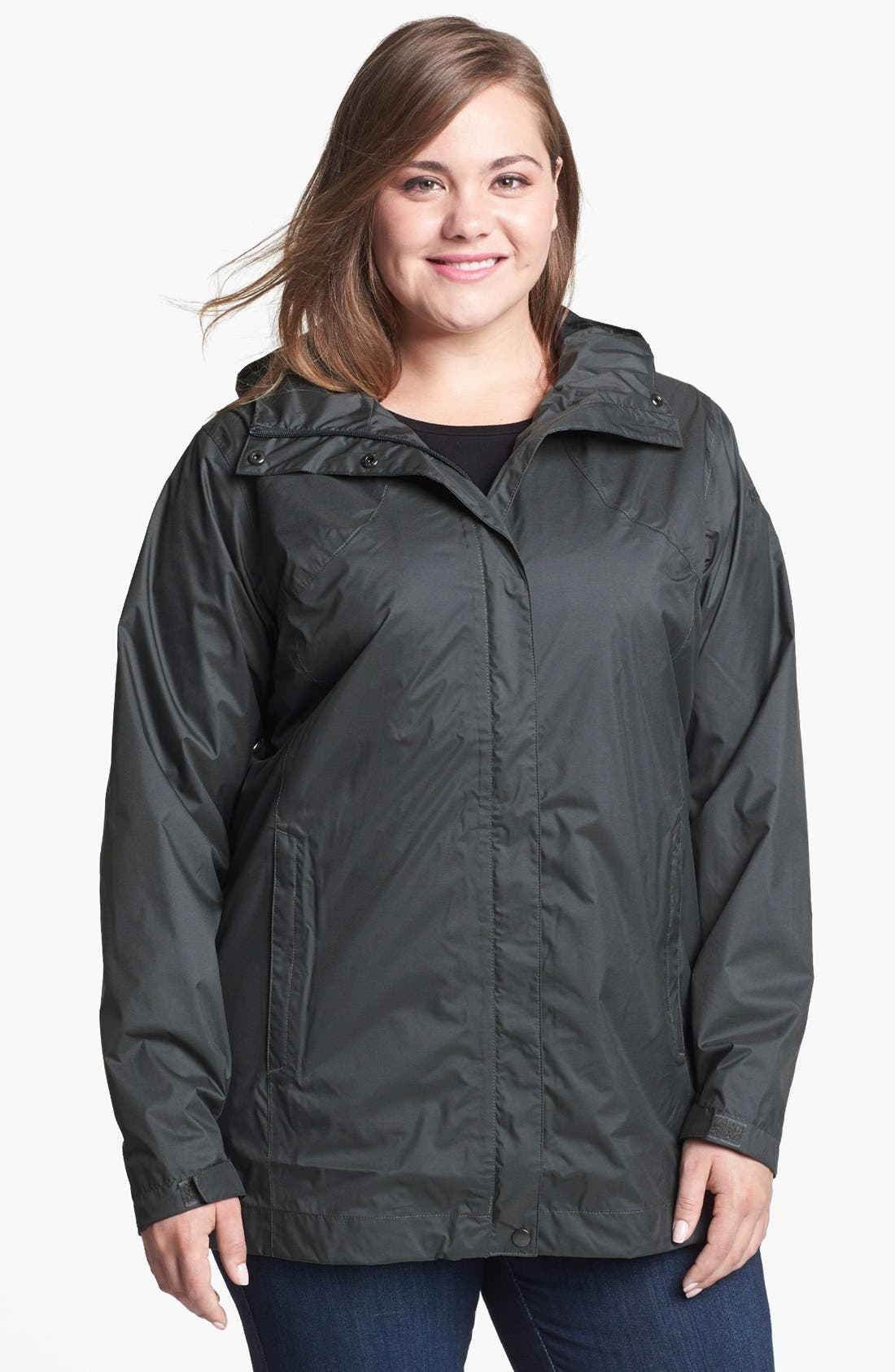 Alternate Image 1 Selected - Columbia 'Splash a Little' Rain Jacket (Plus Size)