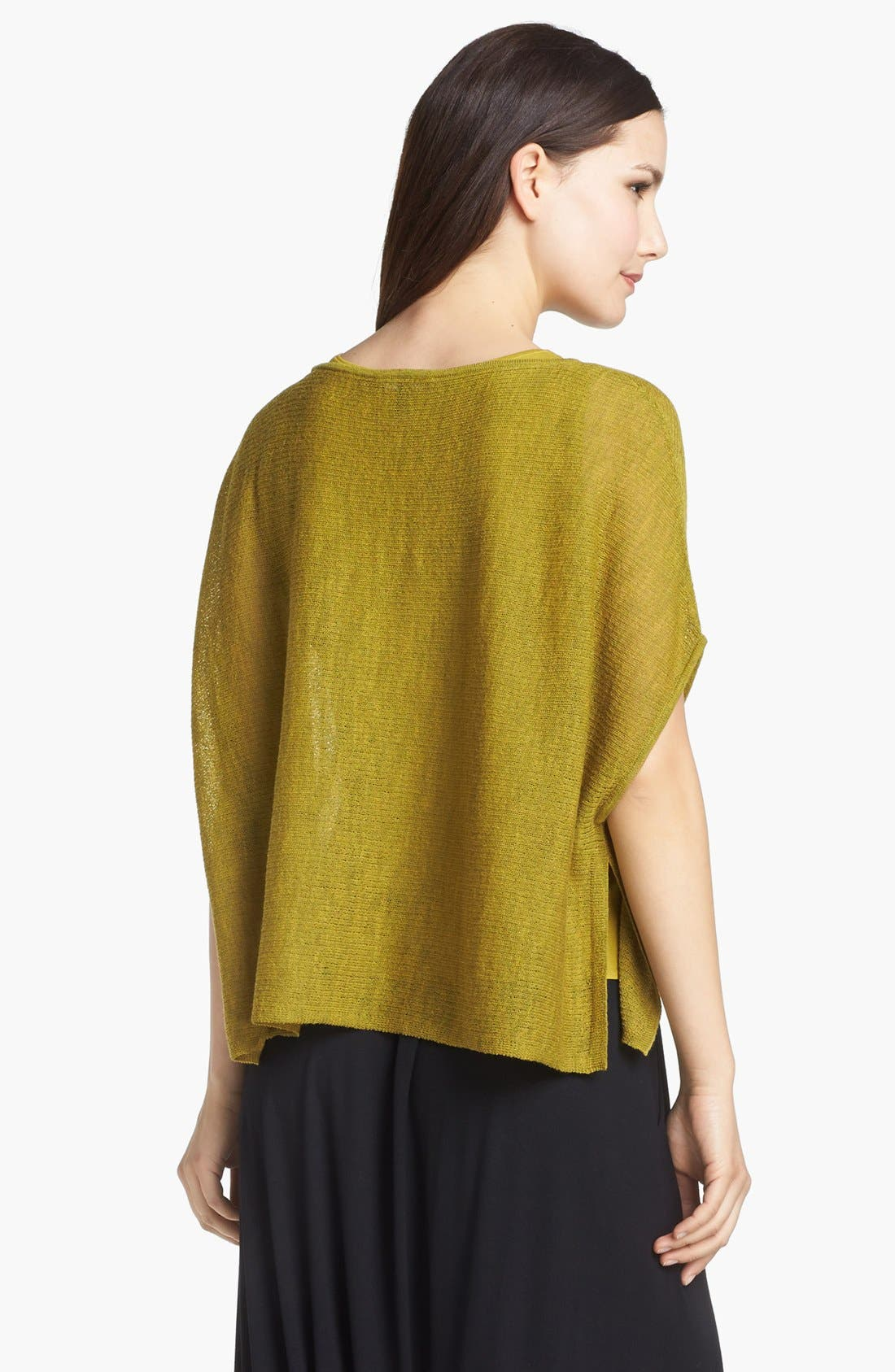 Alternate Image 2  - Eileen Fisher 'Ethereal Wool' Short Poncho Top (Petite)