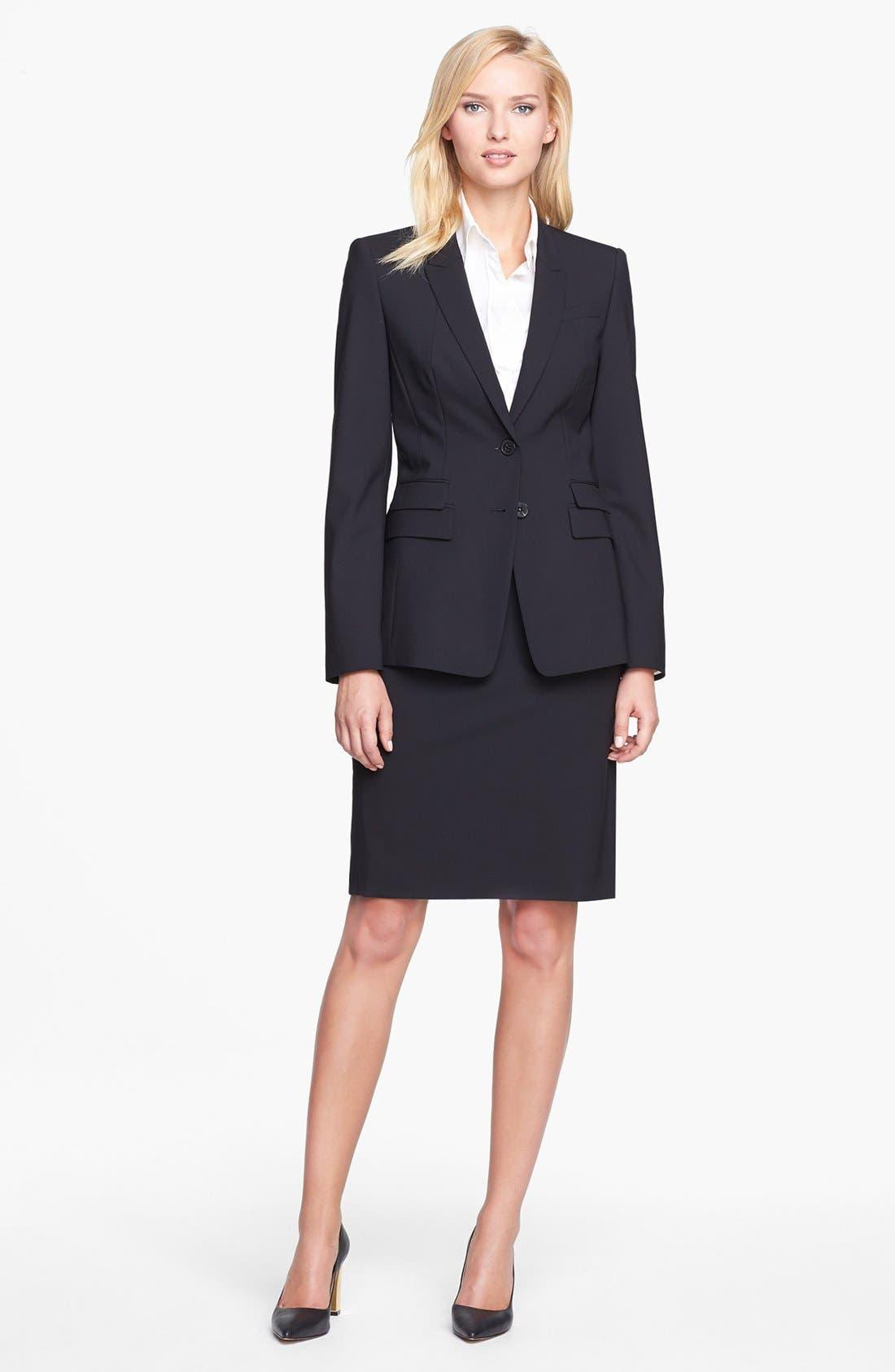 Alternate Image 3  - BOSS 'Juicyra' Tropical Wool Jacket