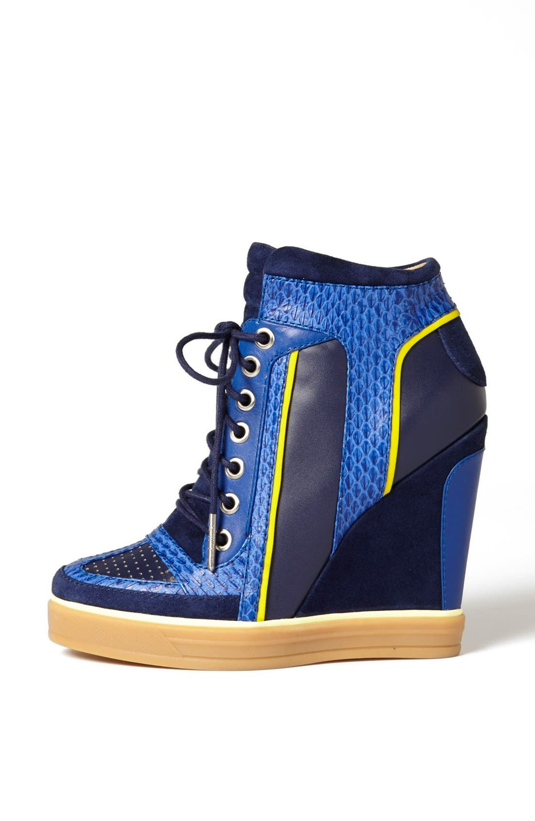 Alternate Image 4  - L.A.M.B. 'Summer'  High Top Wedge Sneaker