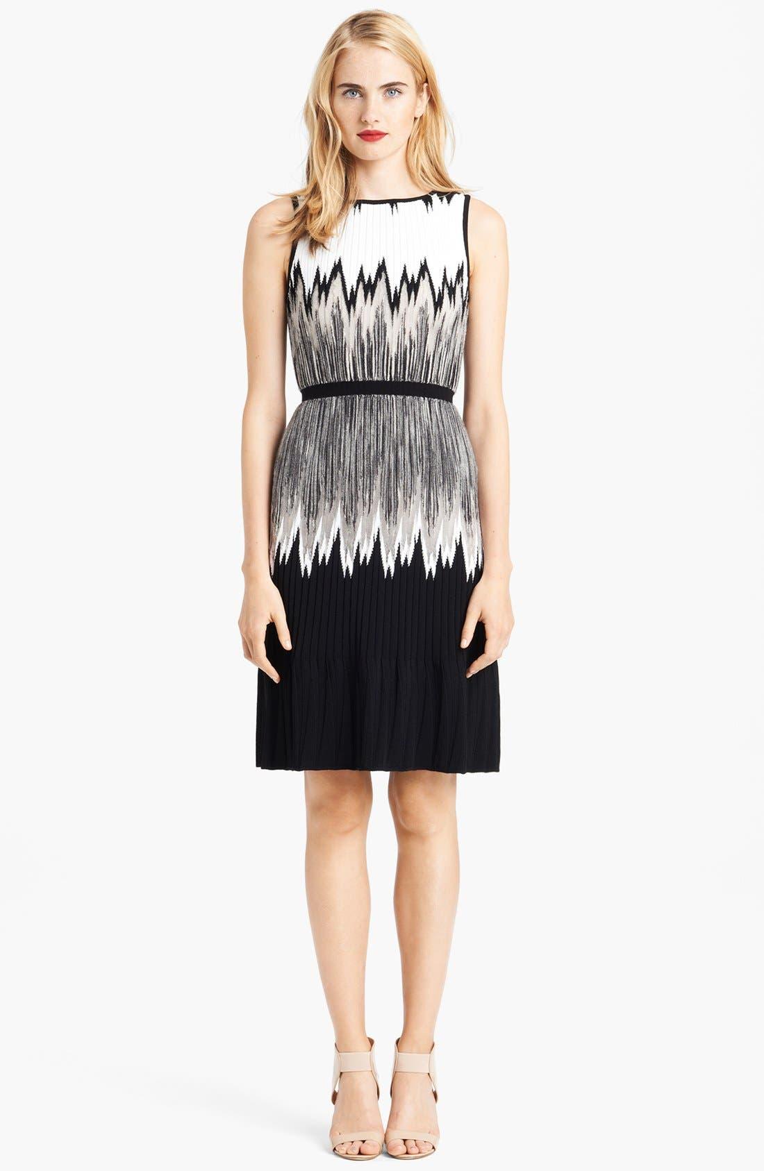 Alternate Image 1 Selected - Missoni Intarsia Knit Plissé Dress