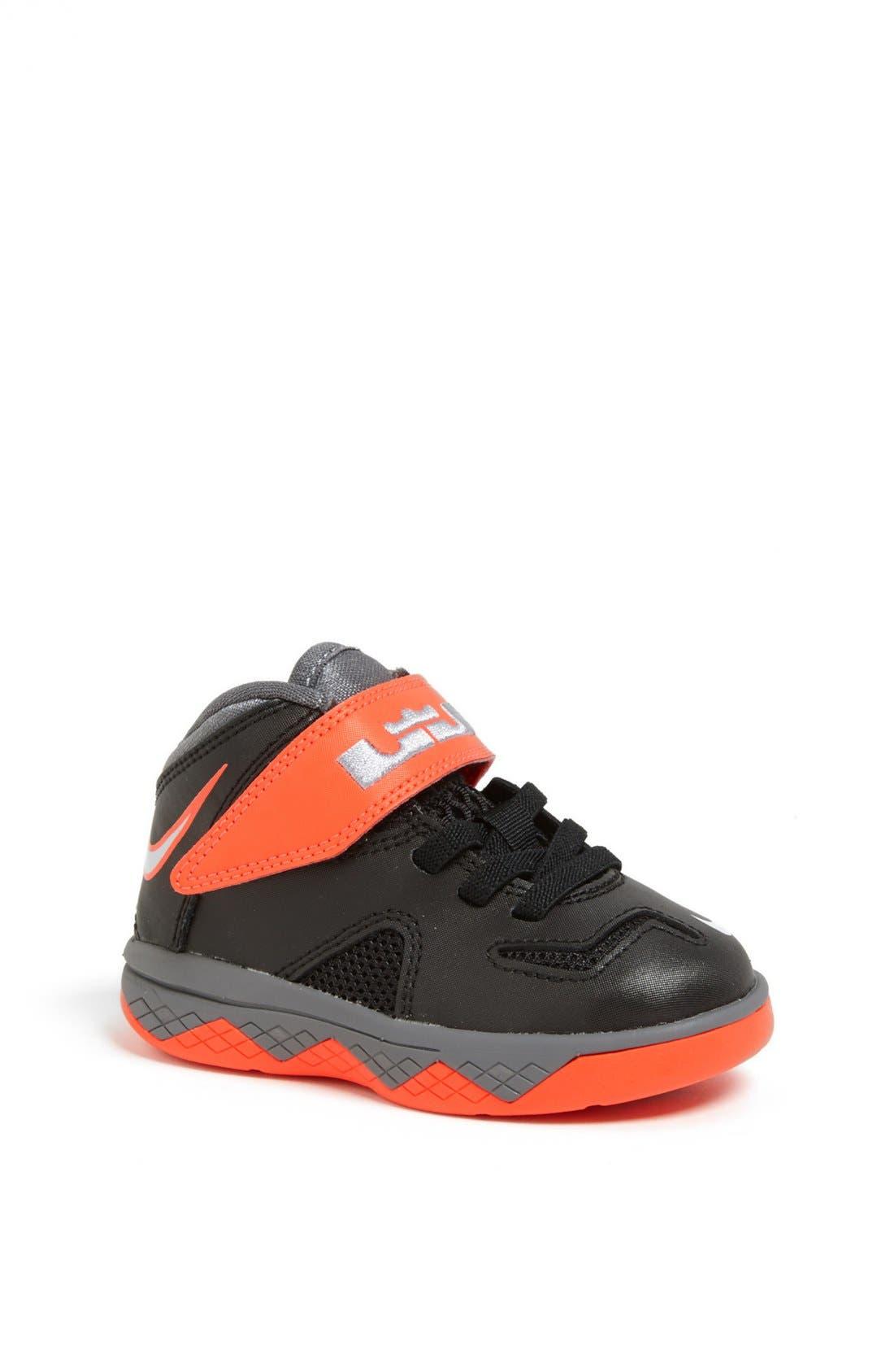 Main Image - Nike 'LeBron Soldier 7' Basketball Shoe (Baby, Walker & Toddler)