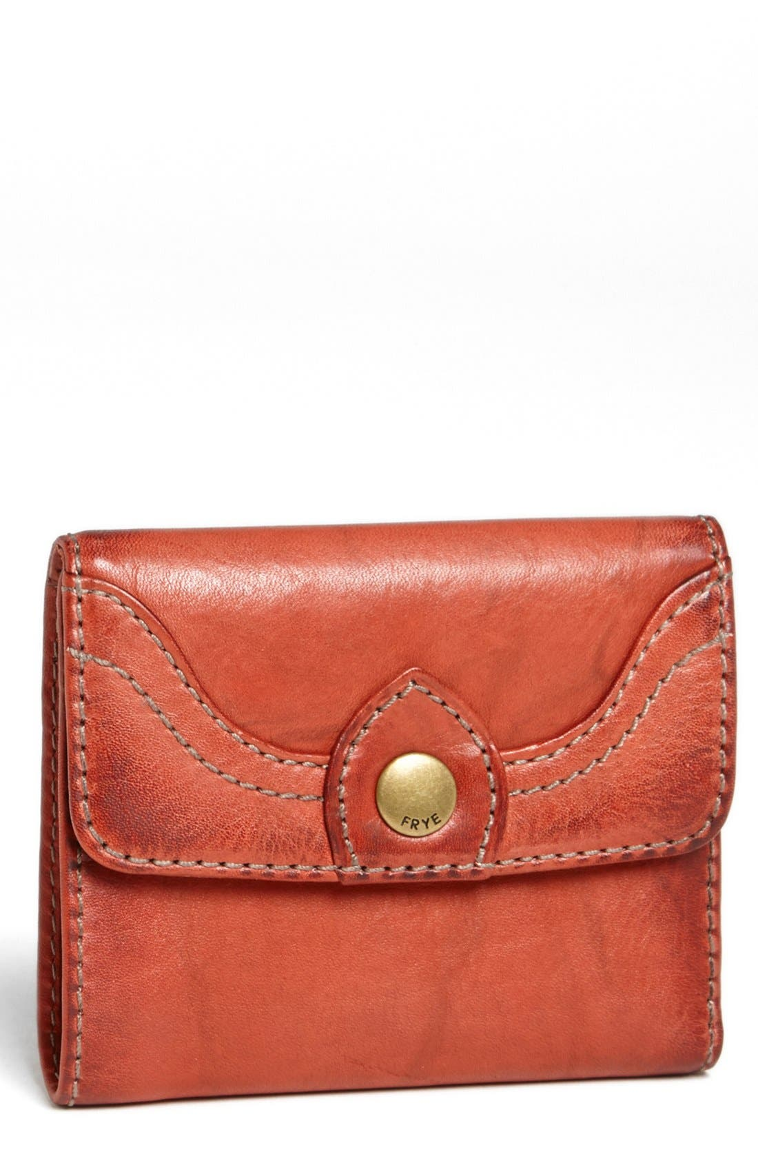 Alternate Image 1 Selected - Frye 'Campus - Small' Leather Wallet