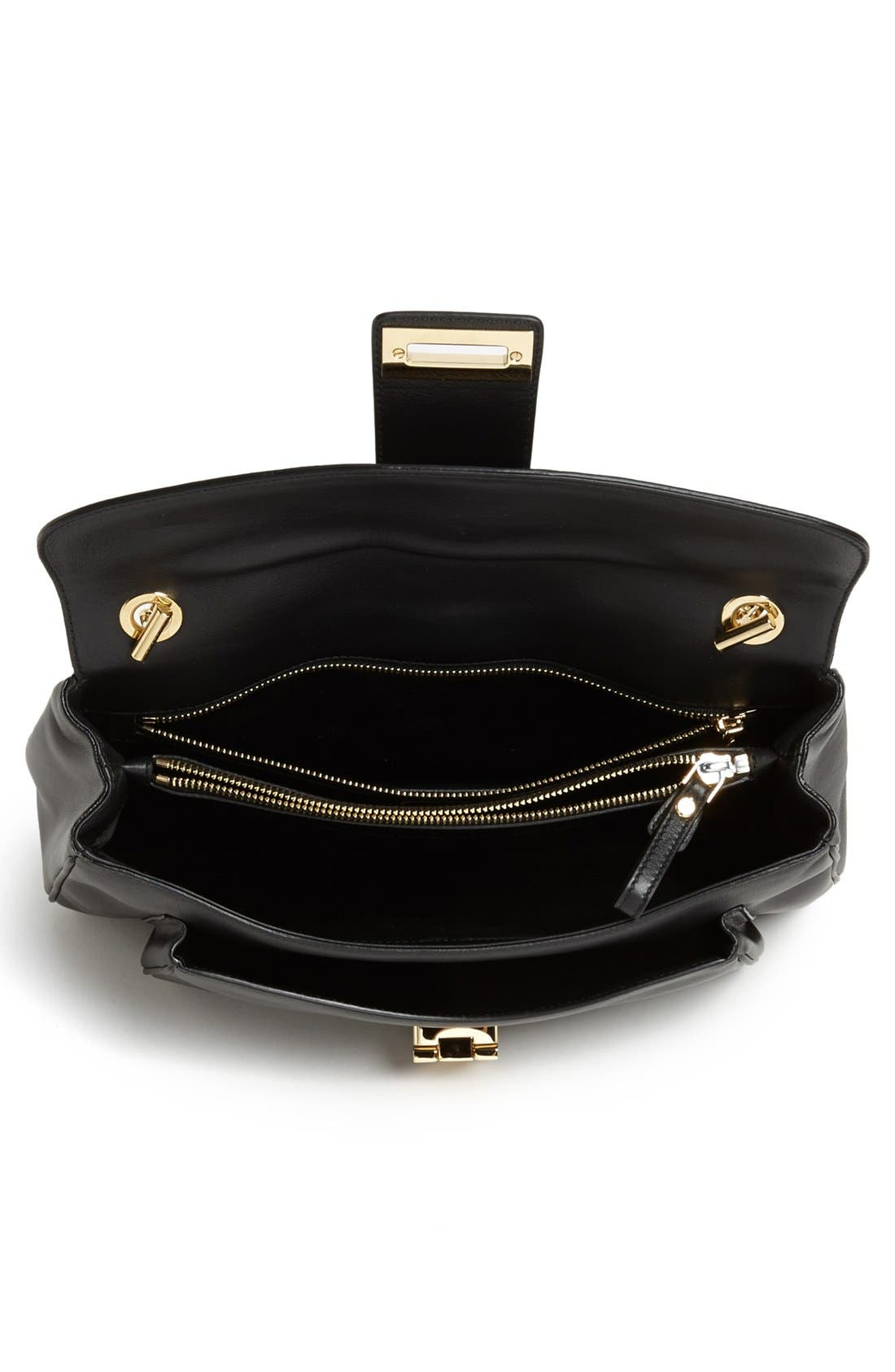 Alternate Image 3  - Salvatore Ferragamo 'Paula' Leather Shoulder Bag