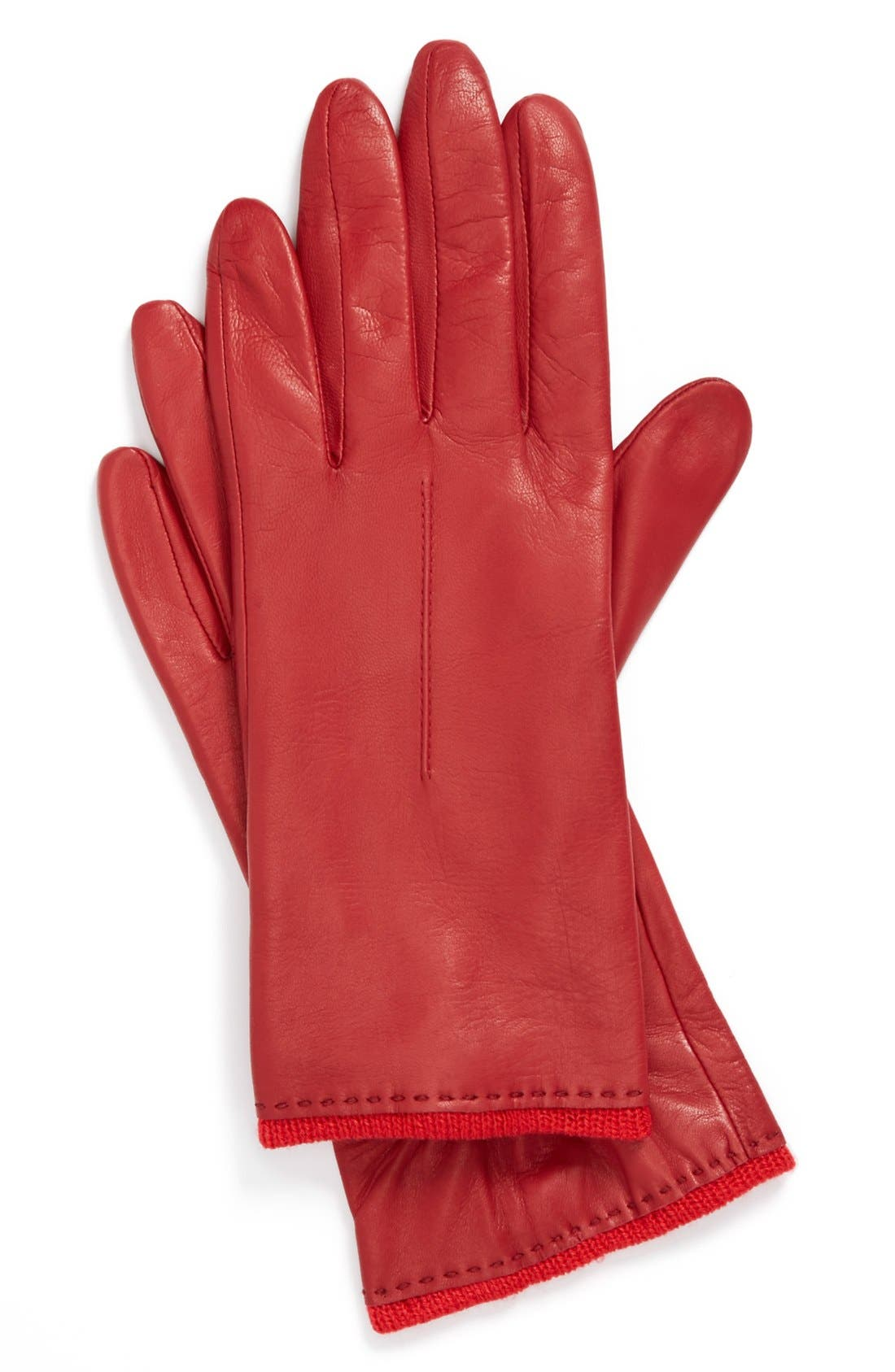 Alternate Image 1 Selected - Fownes Brothers Metisse Leather Glove (Special Purchase)
