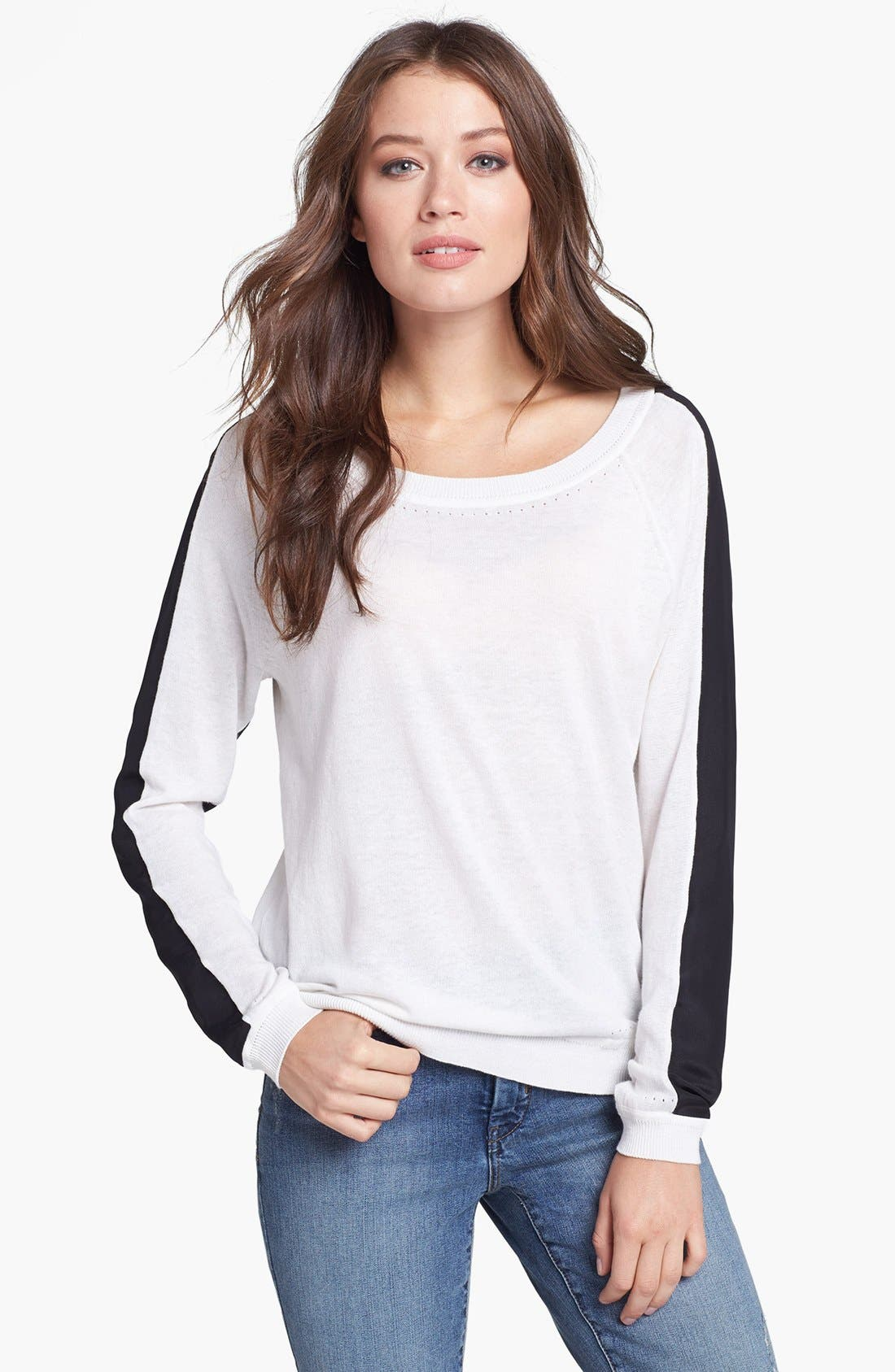 Alternate Image 1 Selected - NYDJ Colorblock Sweater
