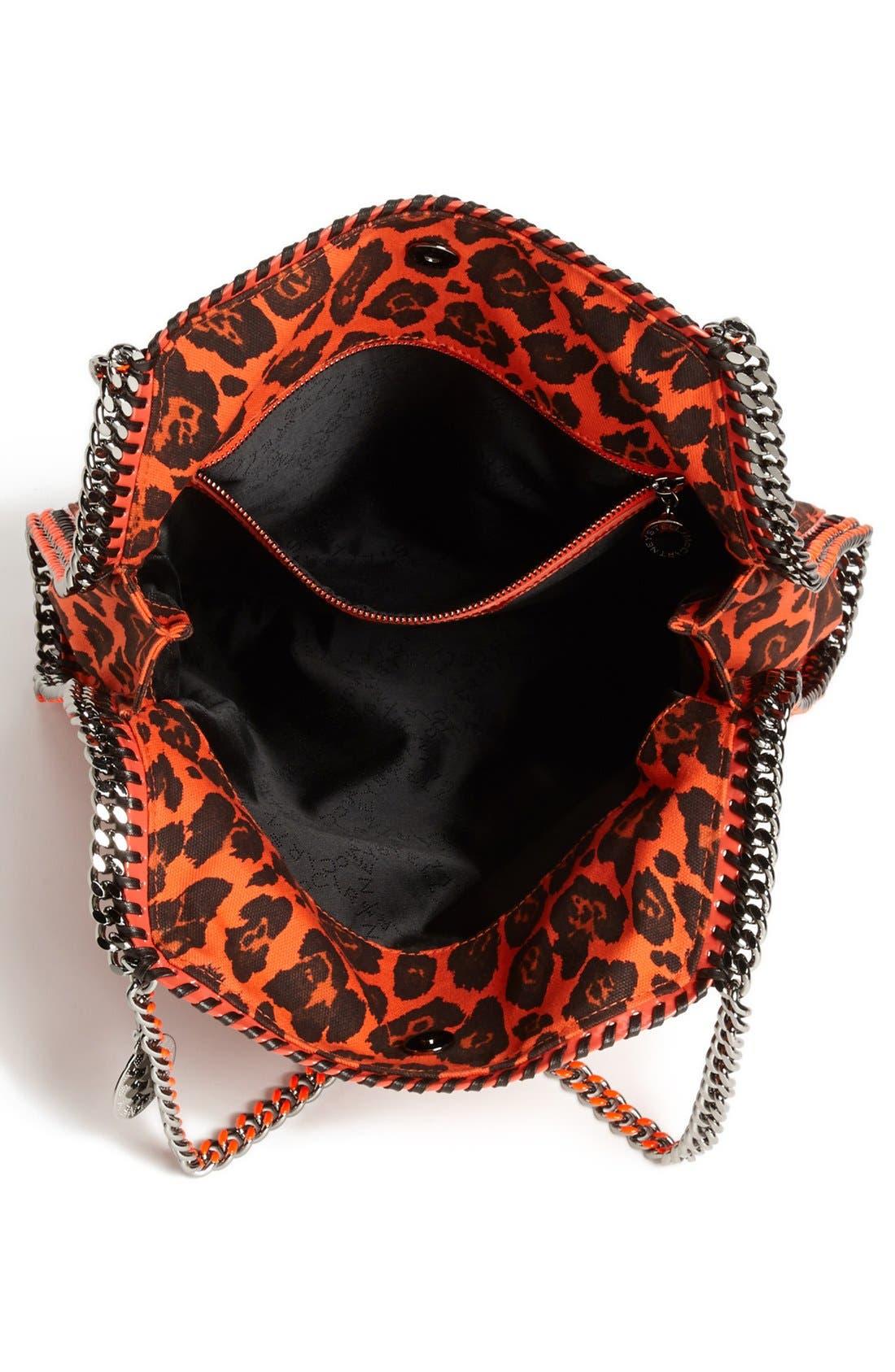 Alternate Image 3  - Stella McCartney 'Falabella -Small' Leopard Print Tote